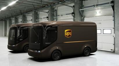 The Futuristic Safety Reason Behind Why Ups Electric Trucks Are So Adorable