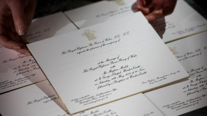 Wedding etiquette the cost of a wedding should be made clear to royal wedding invitation filmwisefo
