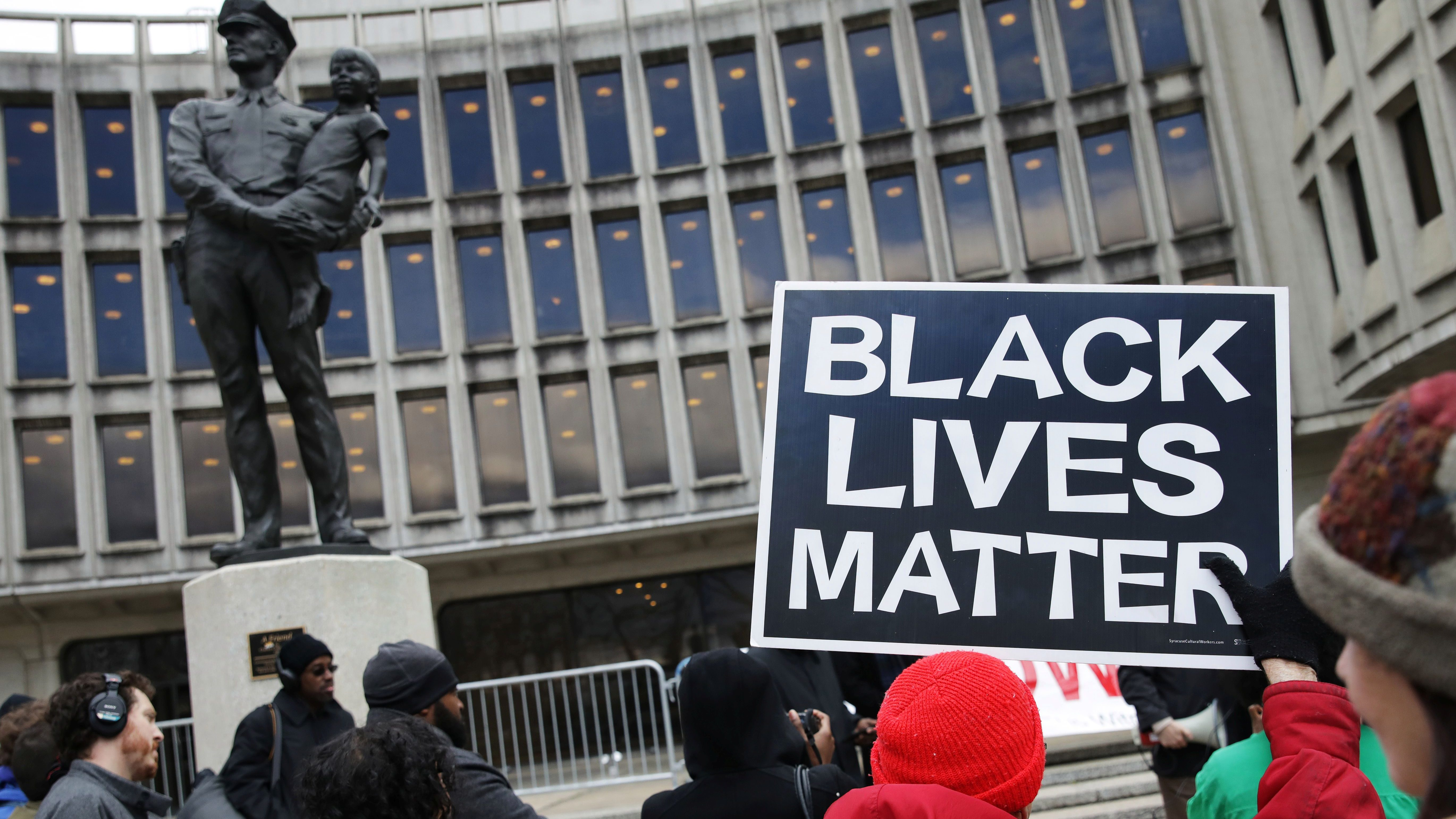 Protesters gather at Philadelphia police headquarters