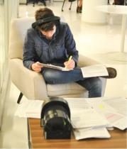 Preproduction work with a script