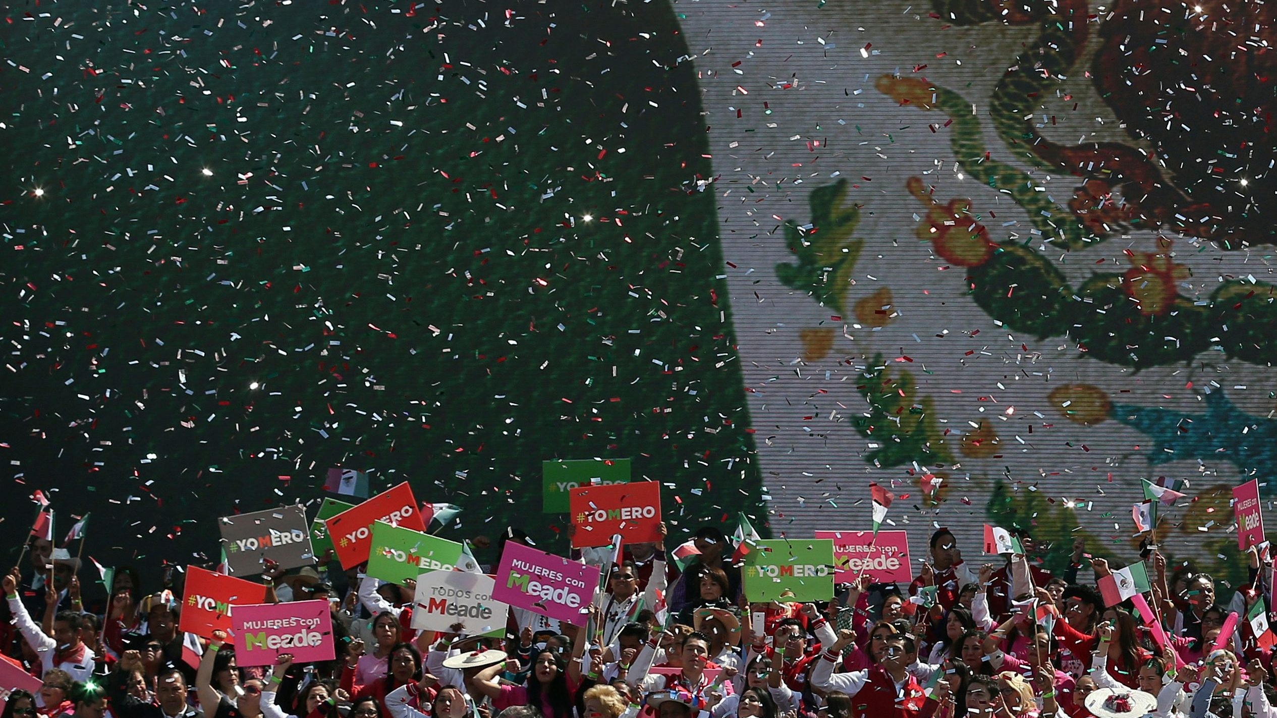 Jose Antonio Meade is the presidential candidate for Mexicos ruling party, PRI, in Sundays election