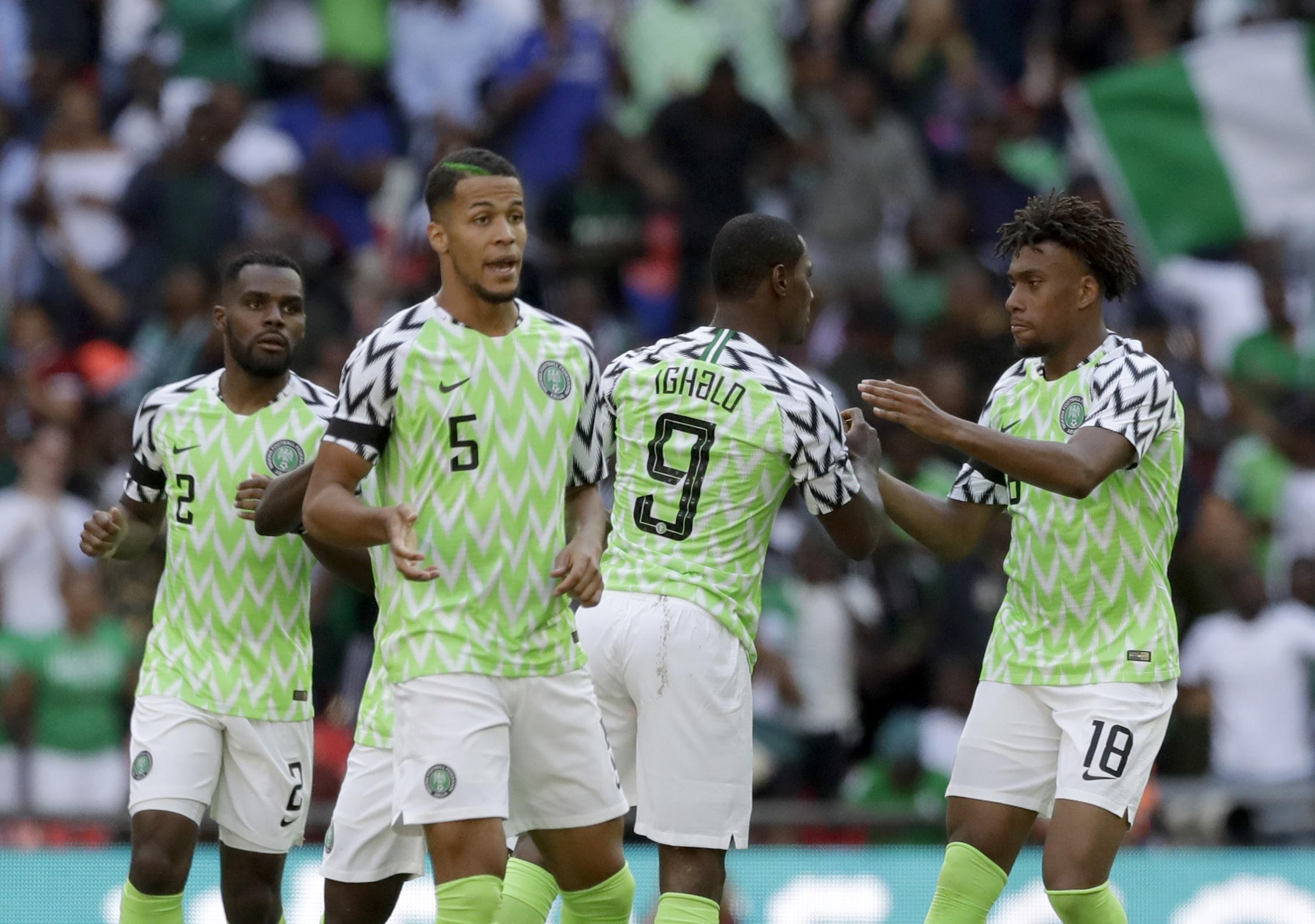 Britain England Nigeria Soccer