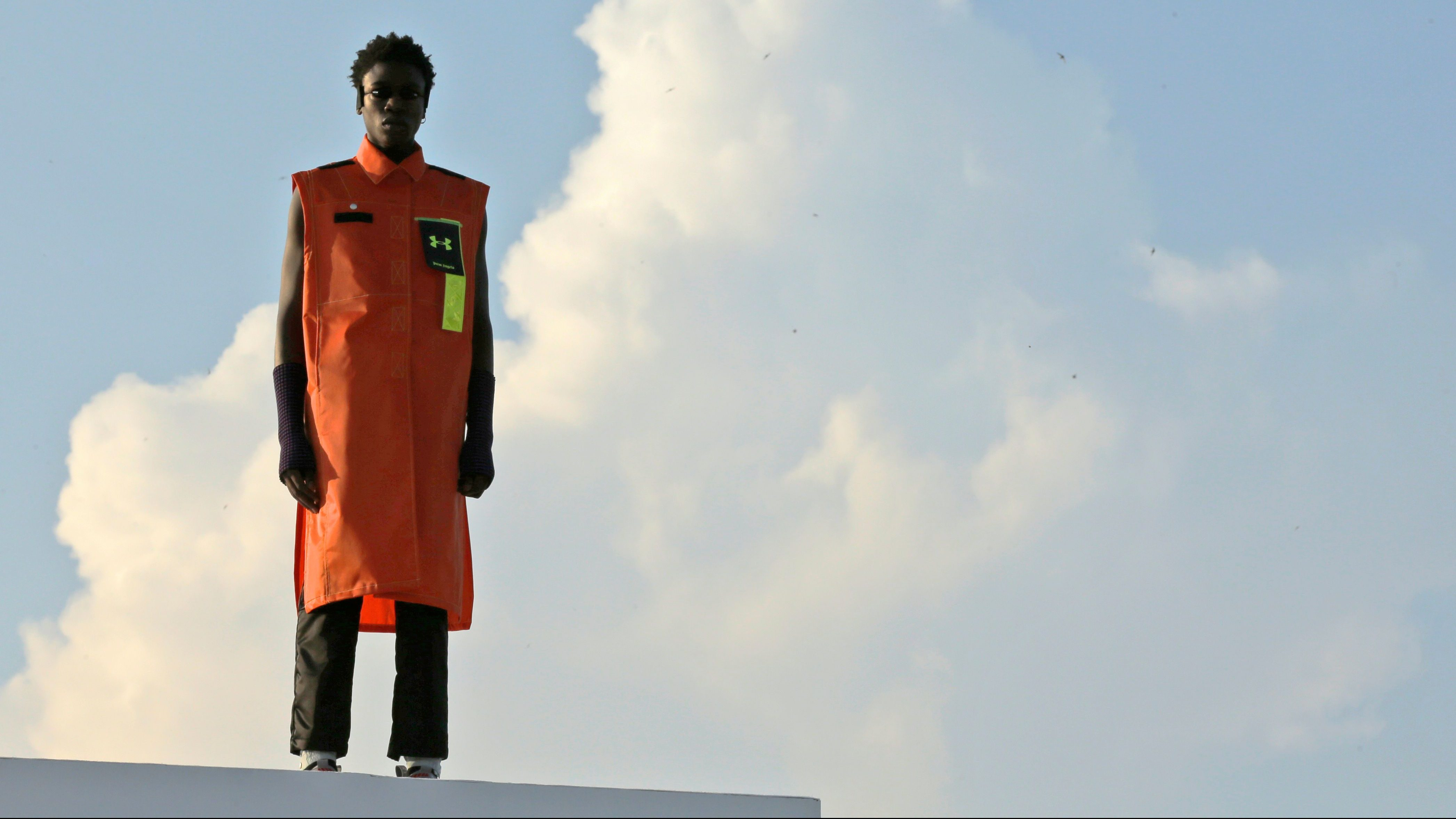 A$AP Rocky wearing Nike Air Force 1 Mid | million dollar man
