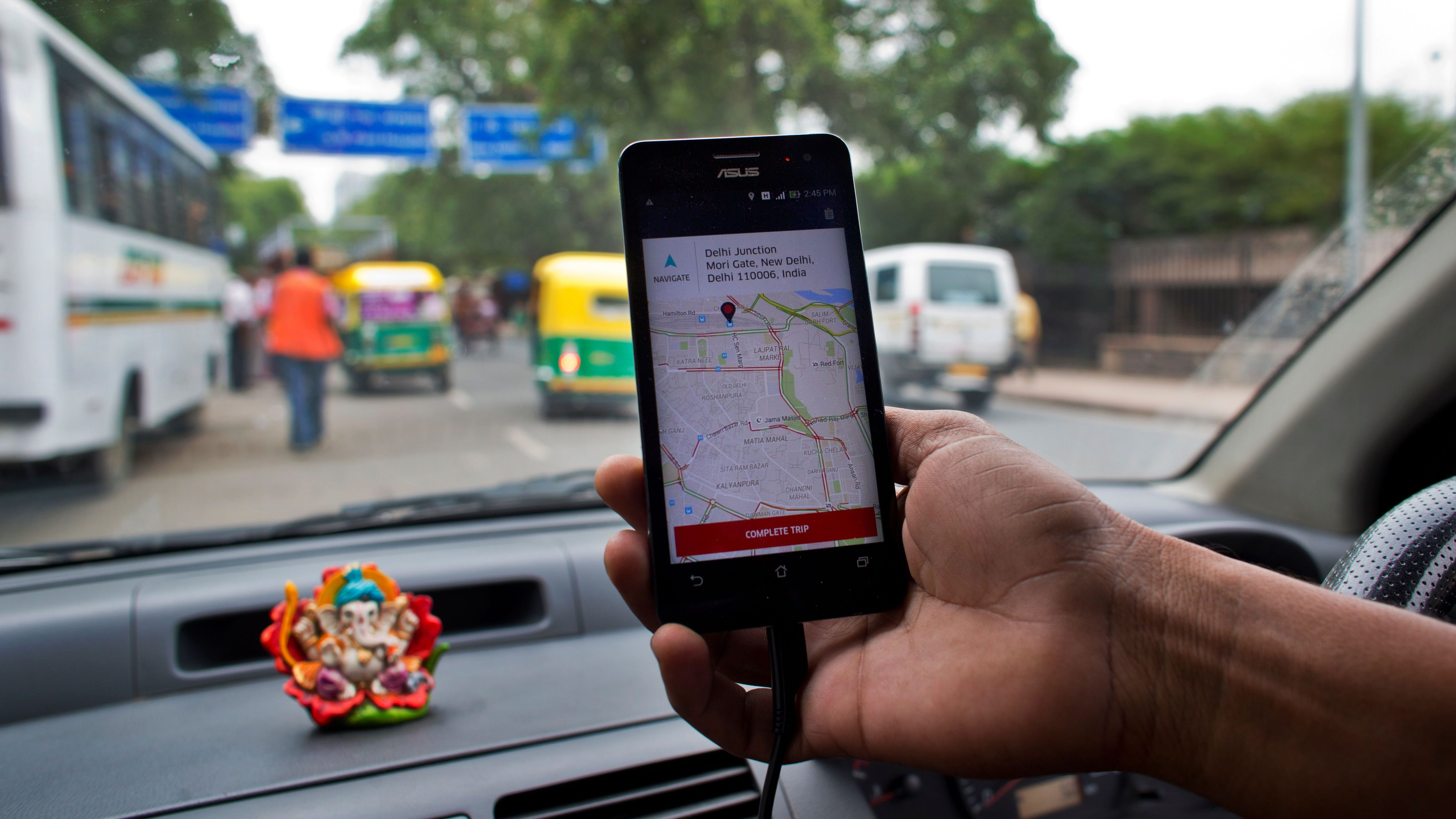 India Uber Investment