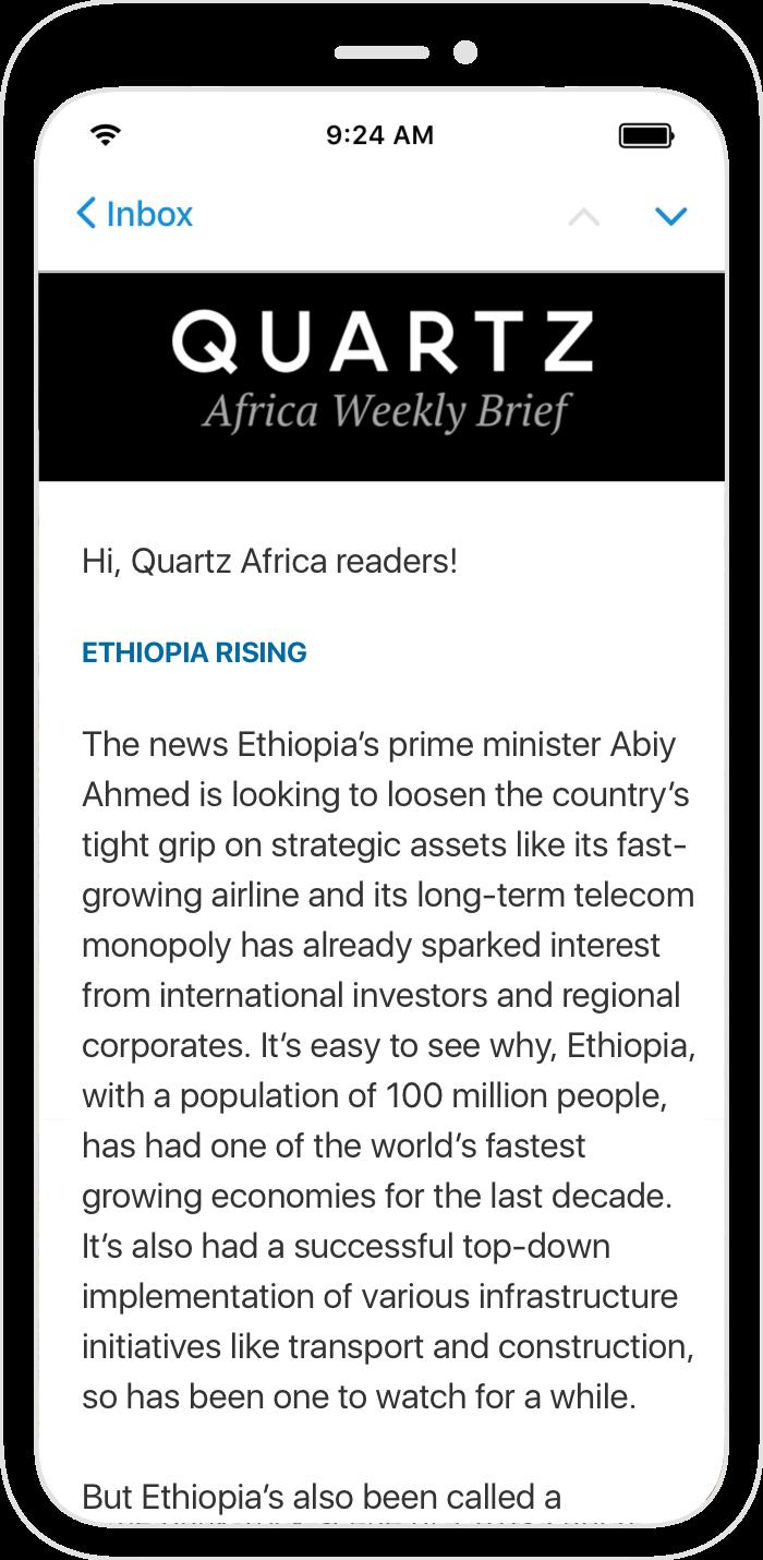Quartz Africa Weekly