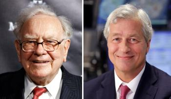 Warren Buffett and Jamie Dimon