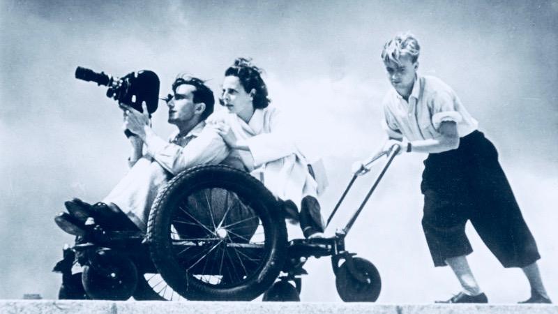 Leni Riefenstahl in 1936.