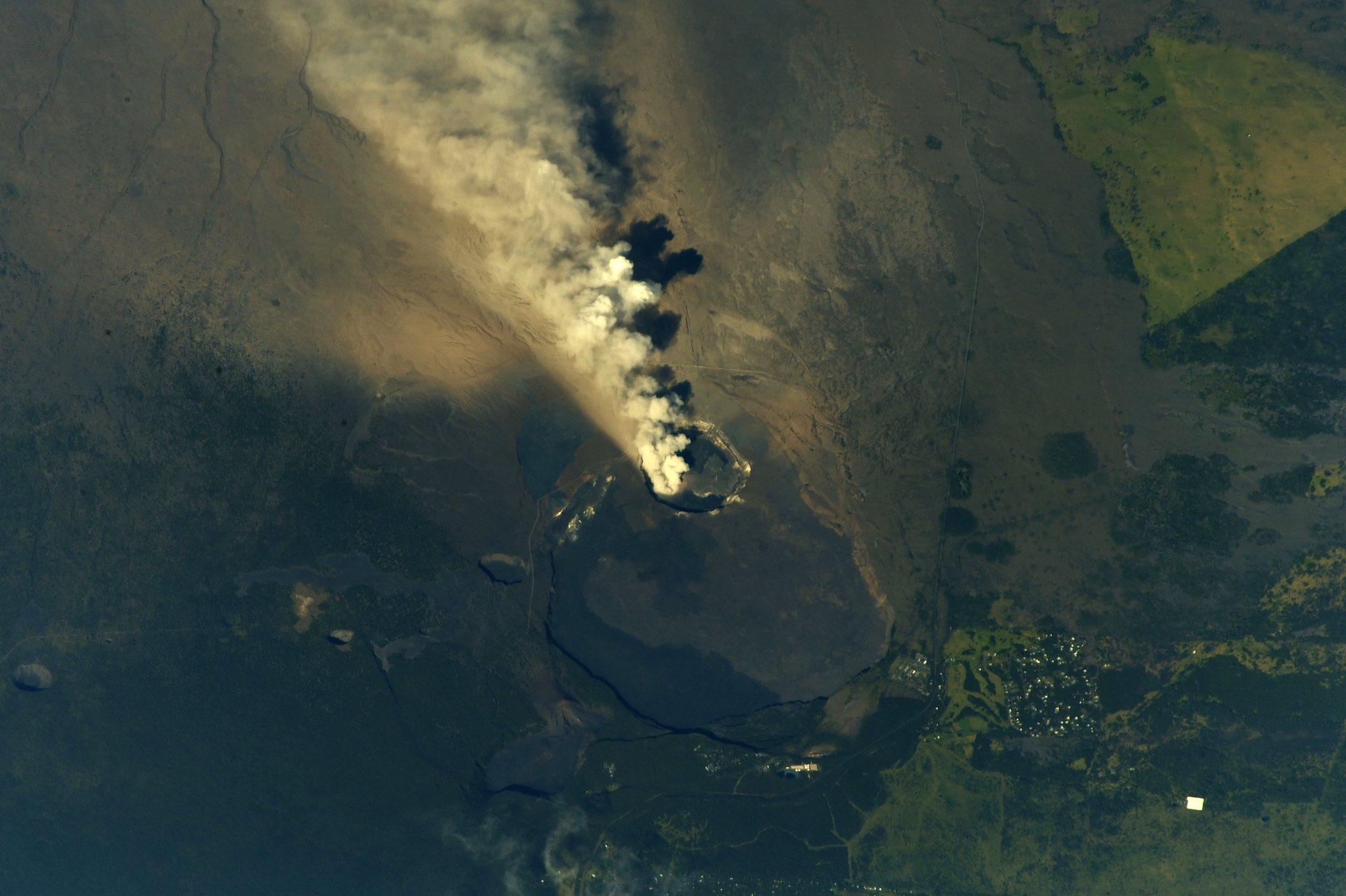 Hawaii's Kilauea, seen erupting in May of 2018.