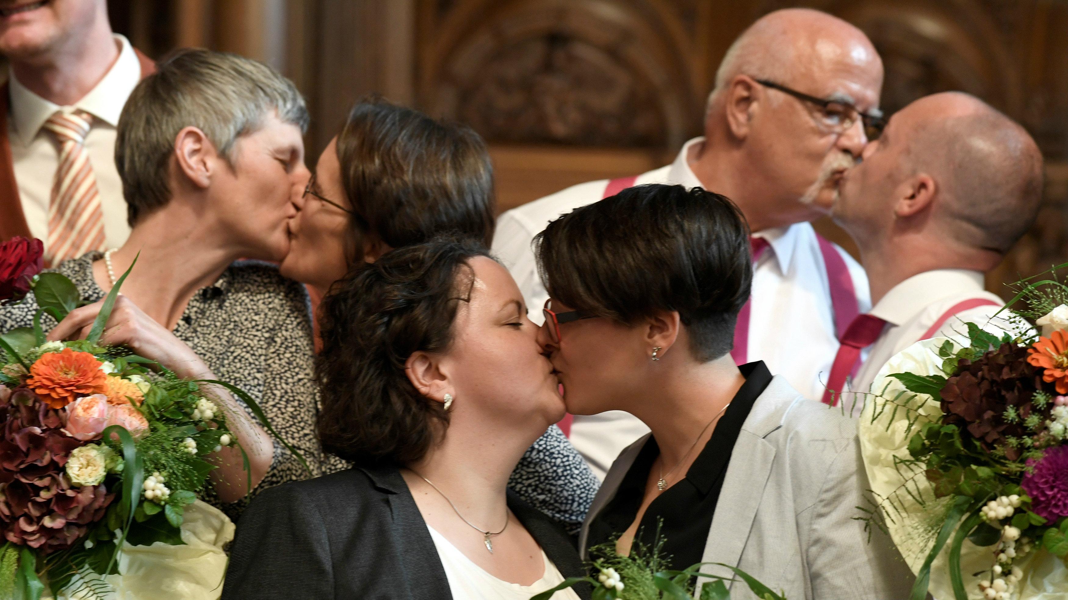 EU ECJ spouse definition gay marriage same sex marriage