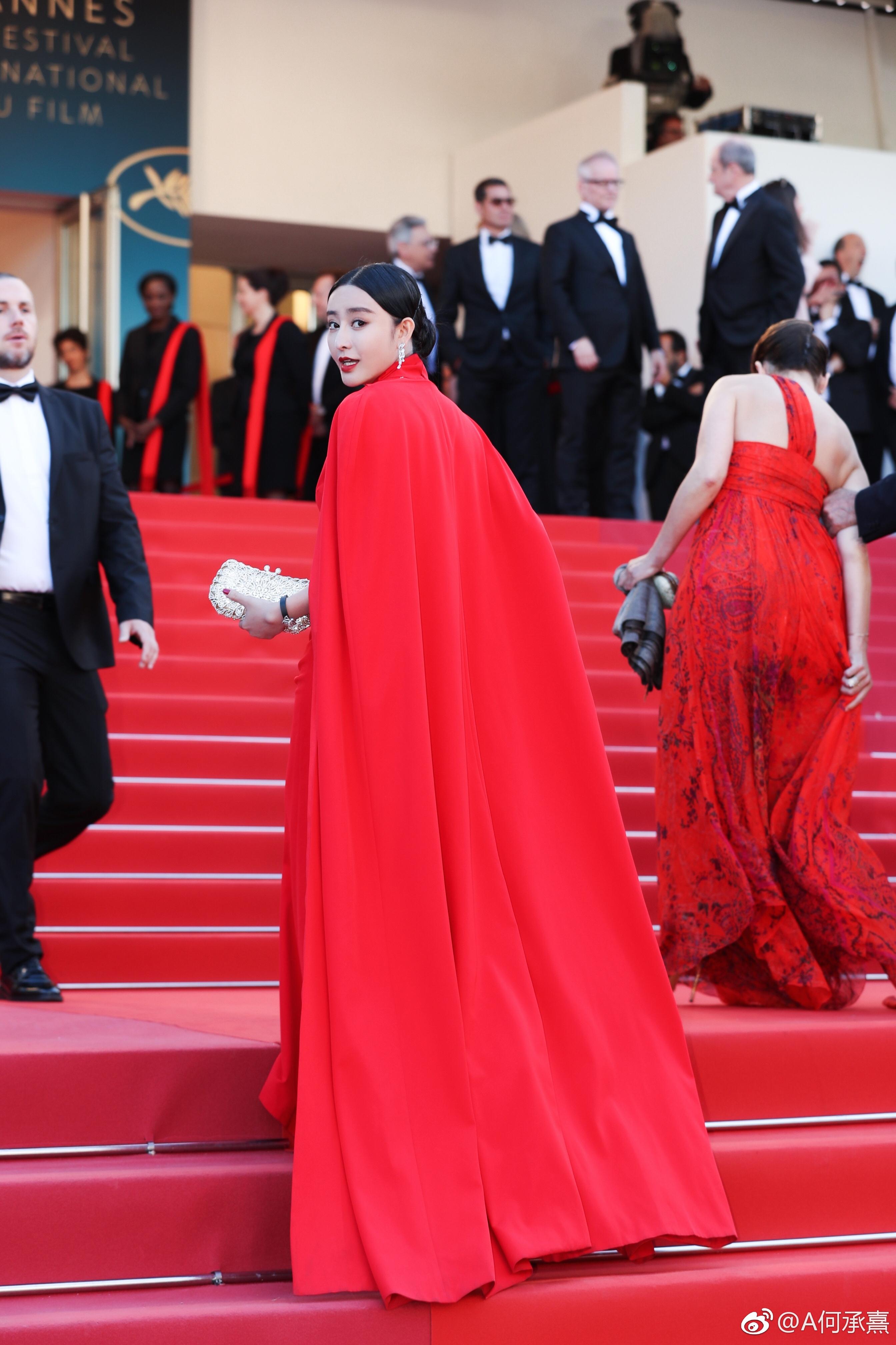 Fan Bingbing lookalike at Cannes