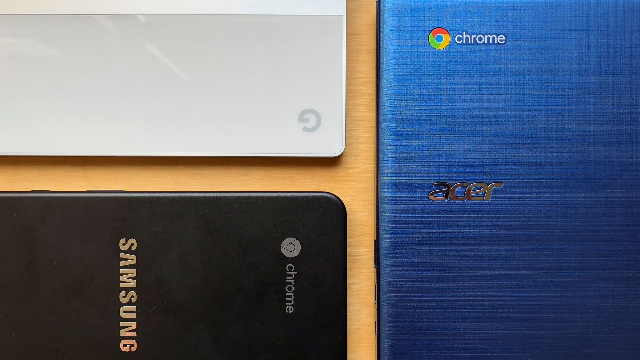 Chrome everywhere.