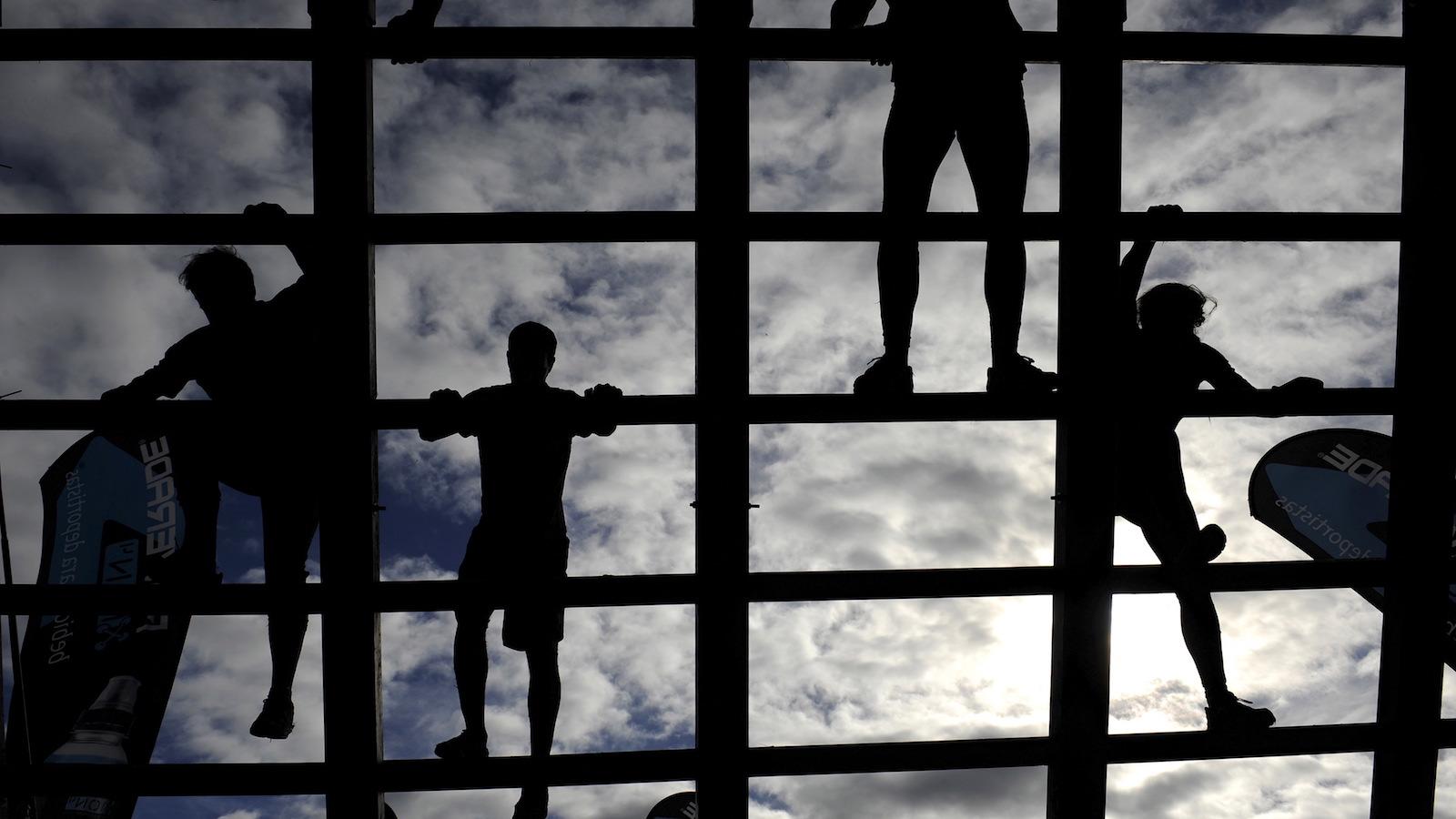 Climbing ladders