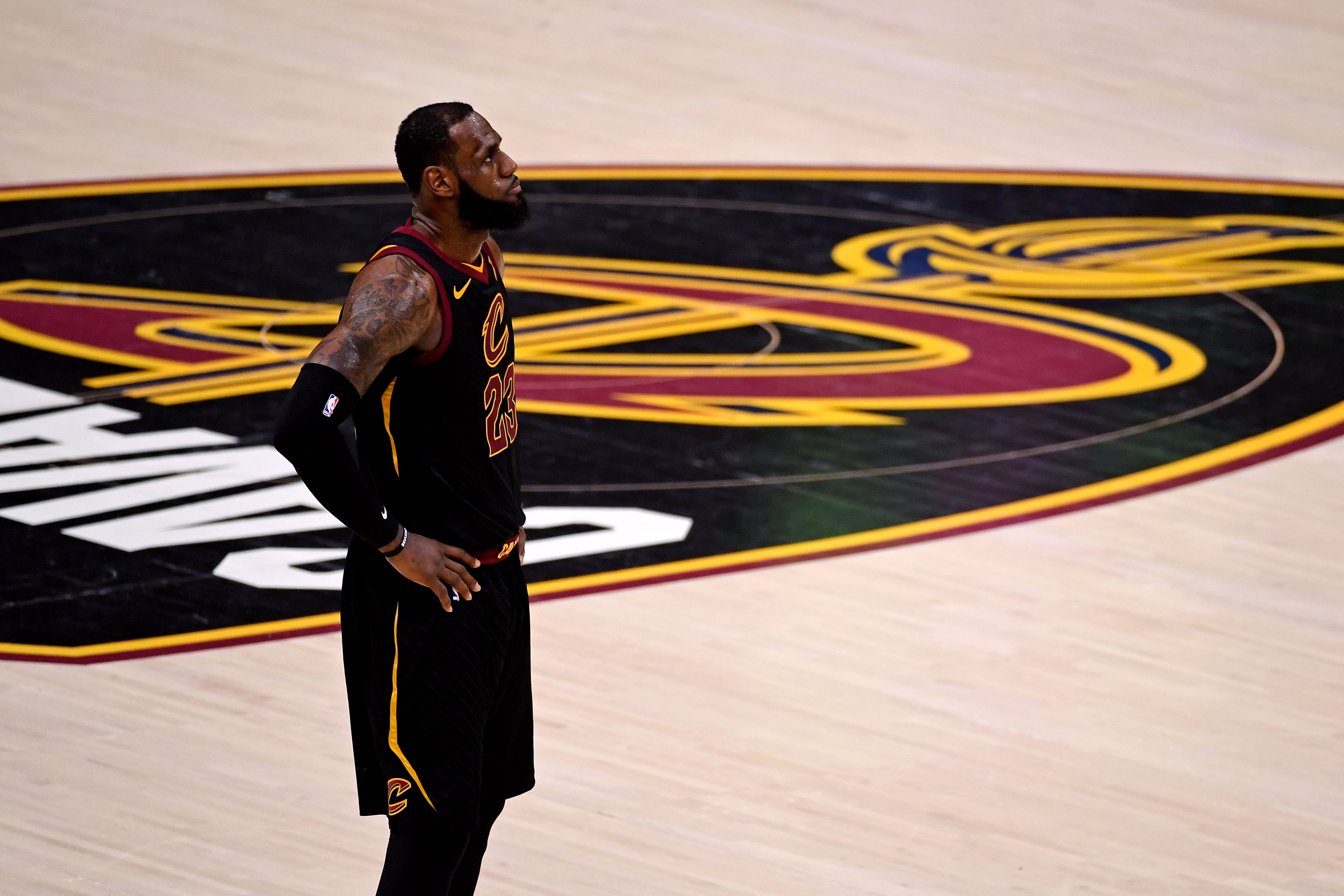 LeBron James just became the first player to get swept in