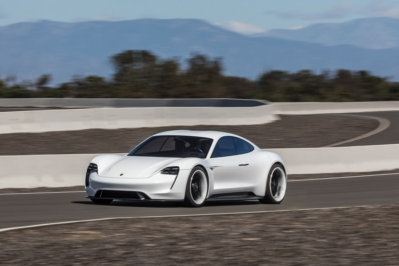 Porsche christens first electric the Taycan