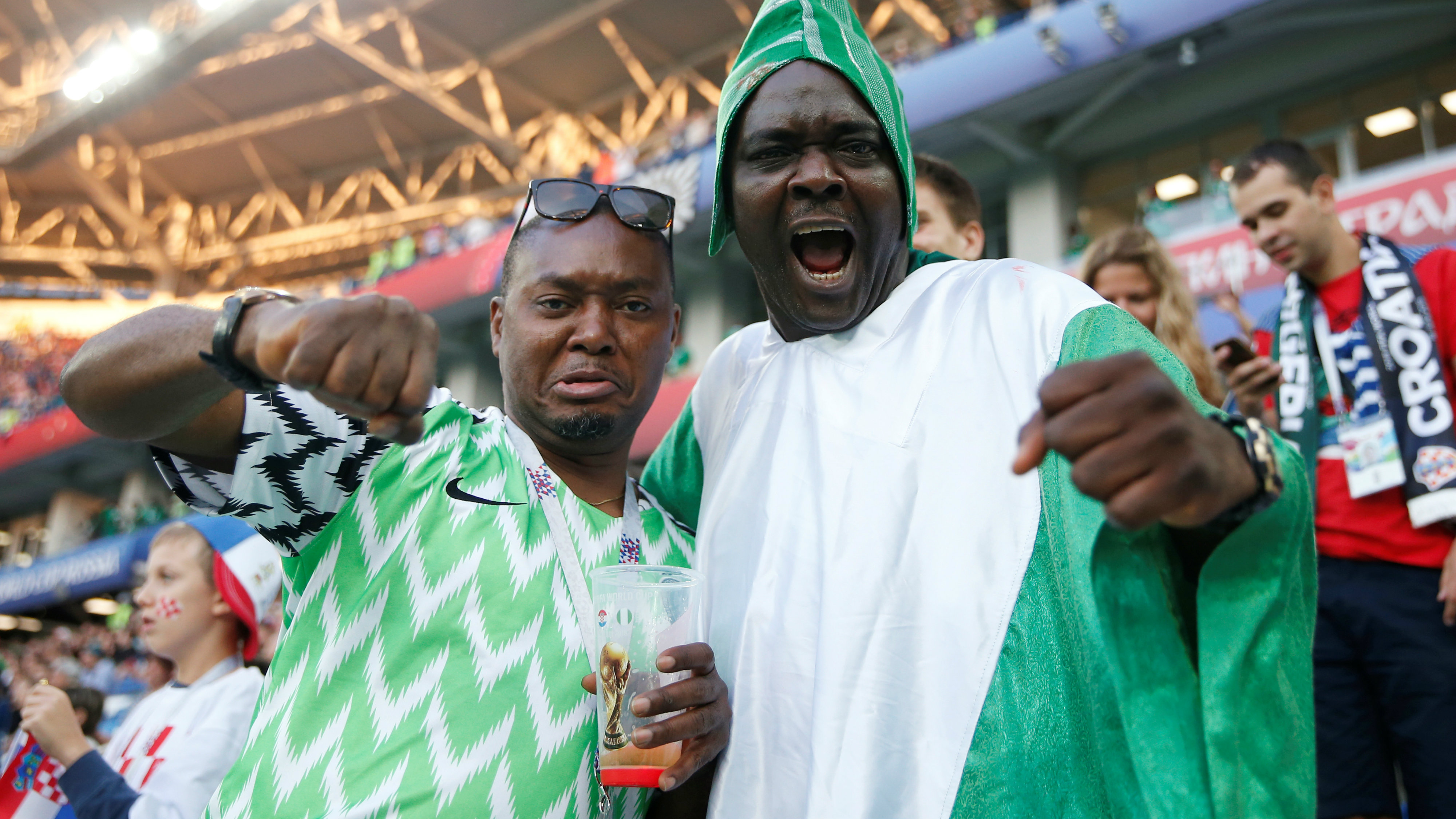 3f1070d59c9 How Nigeria's stylish in-demand World Cup jersey is making millionaires out  of bootleggers