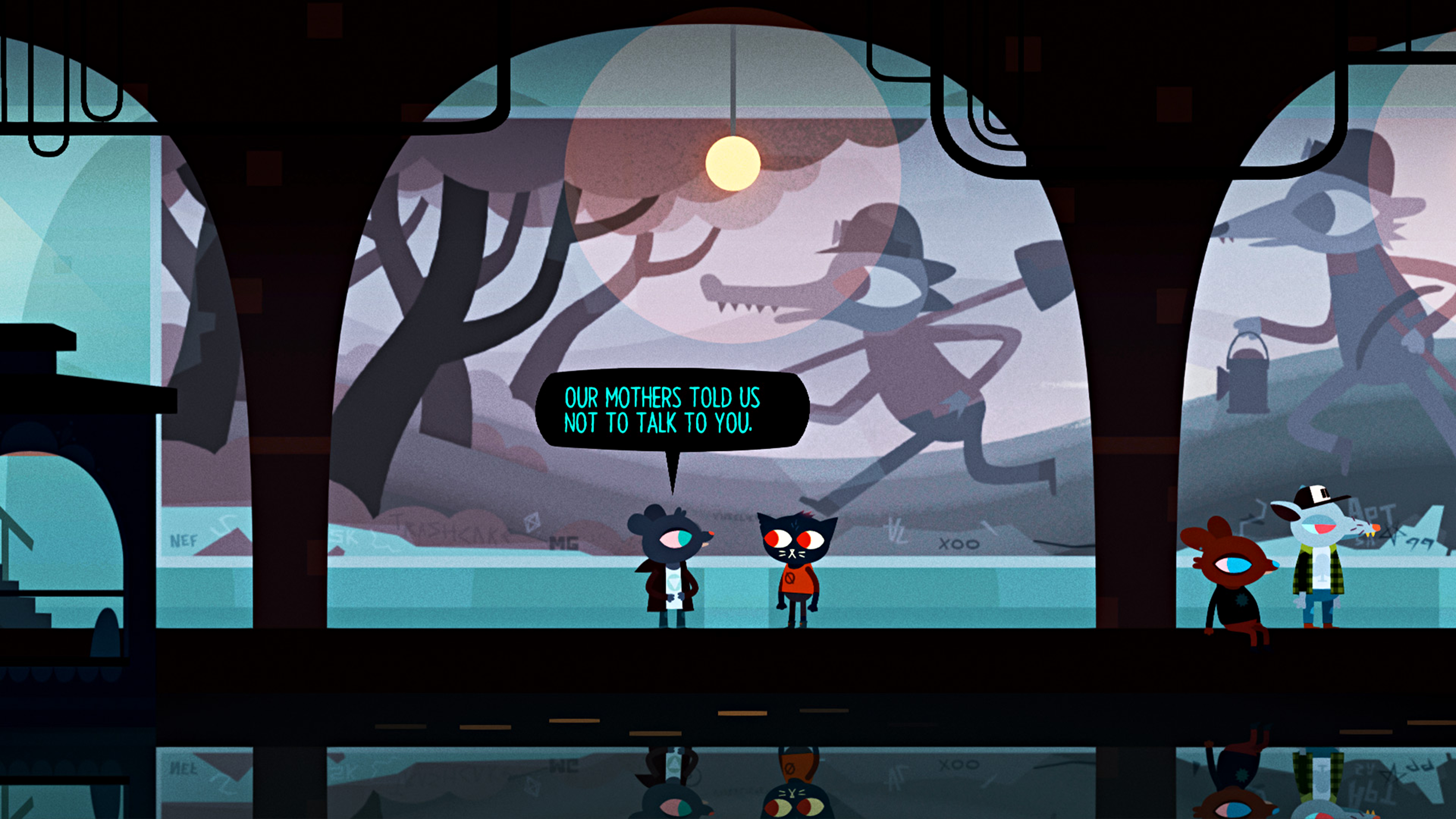 Night in the Woods dialogue