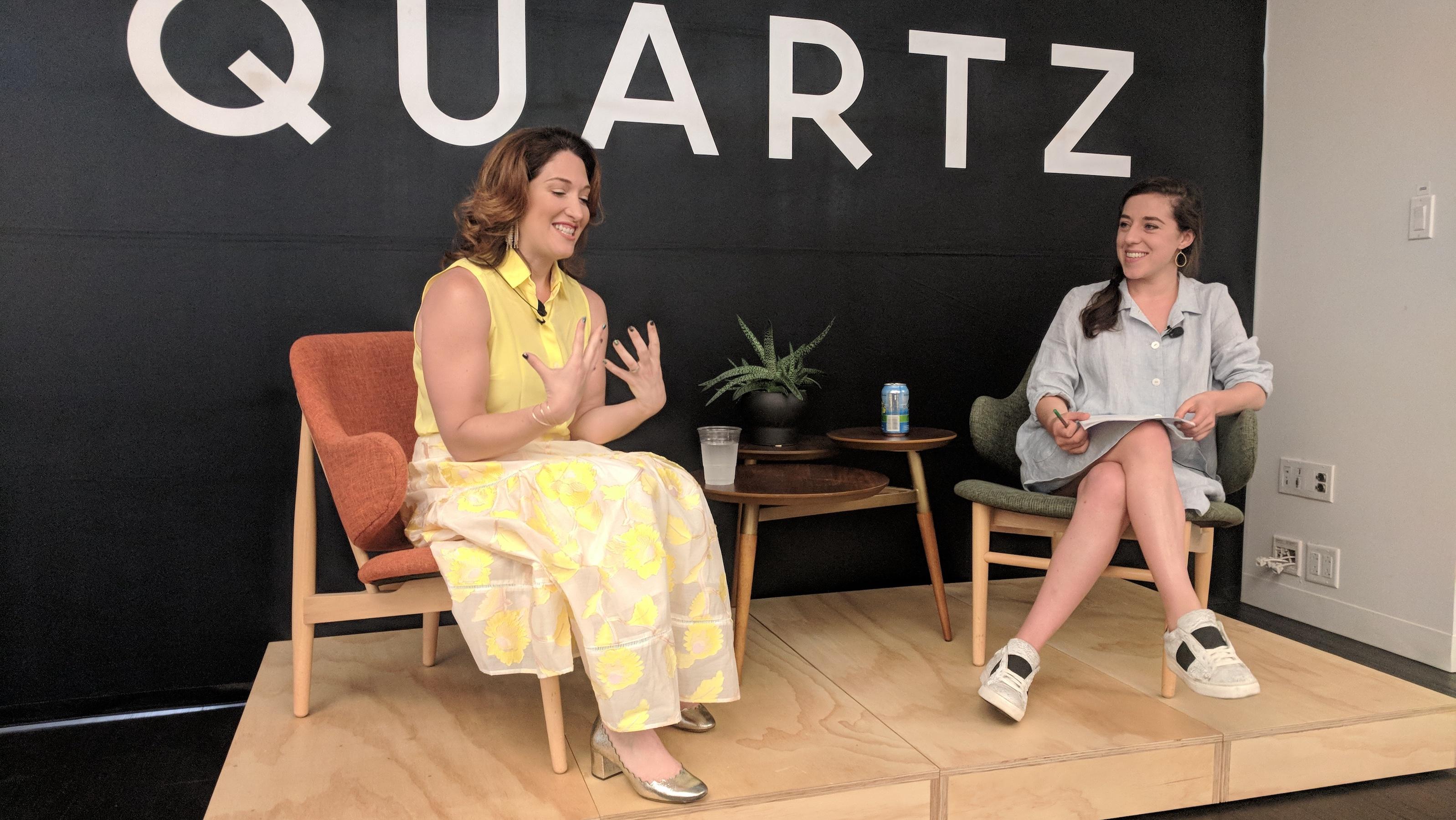 Randi Zuckerberg, left, likes fields with a fair chance for women.