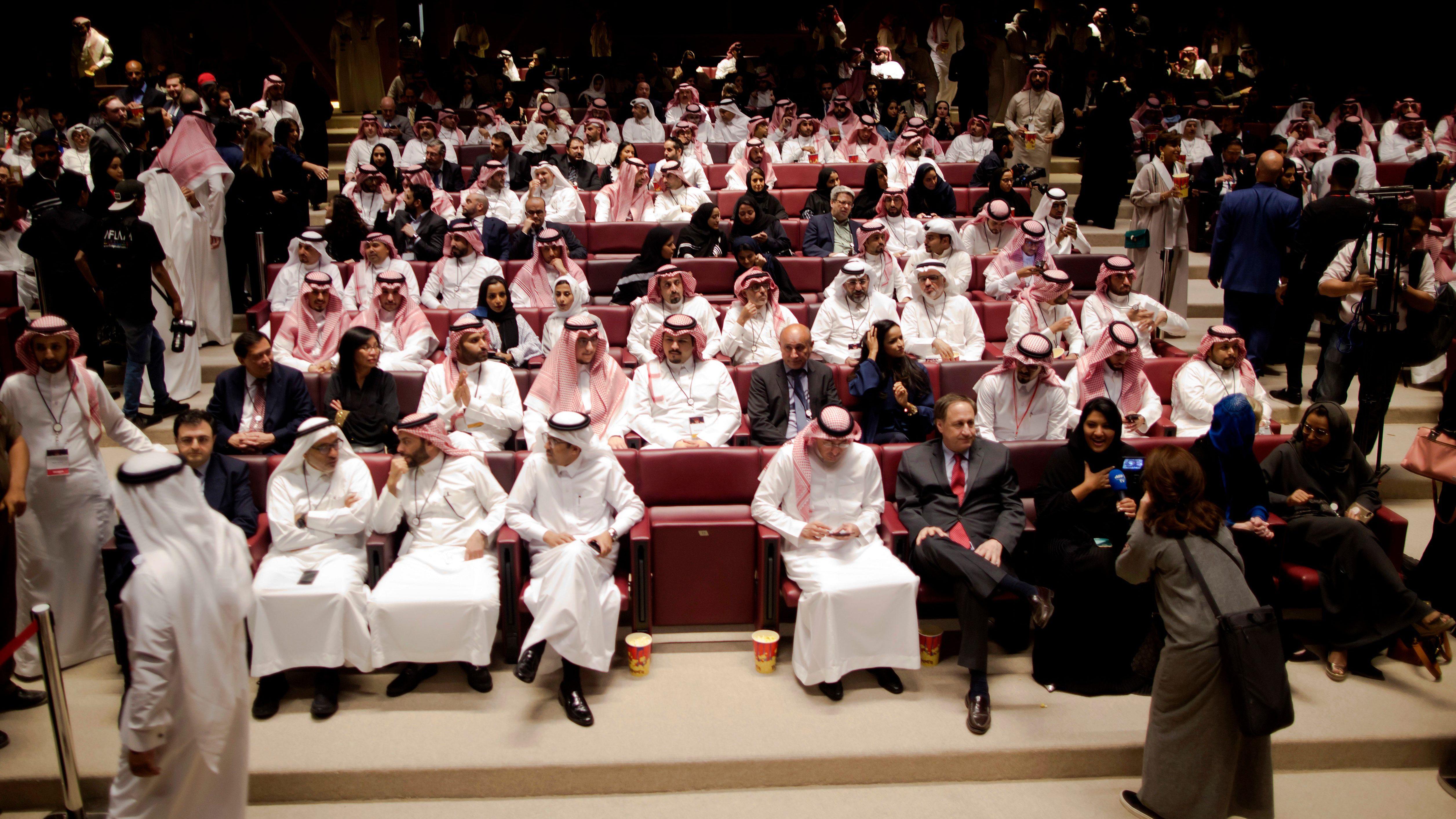Saudi Arabia cinema
