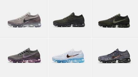 Variations on VaporMax.