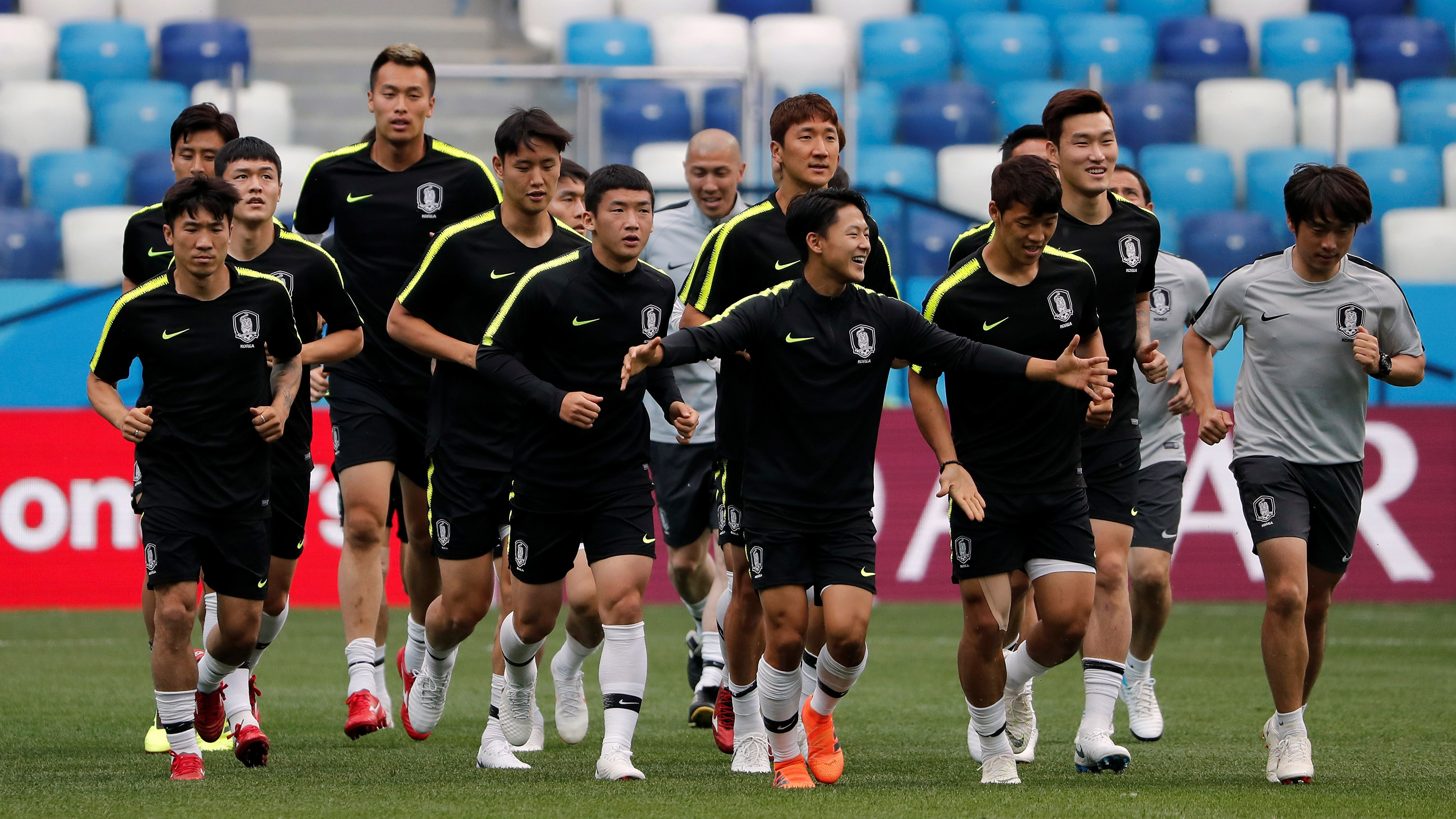 South Korea Training