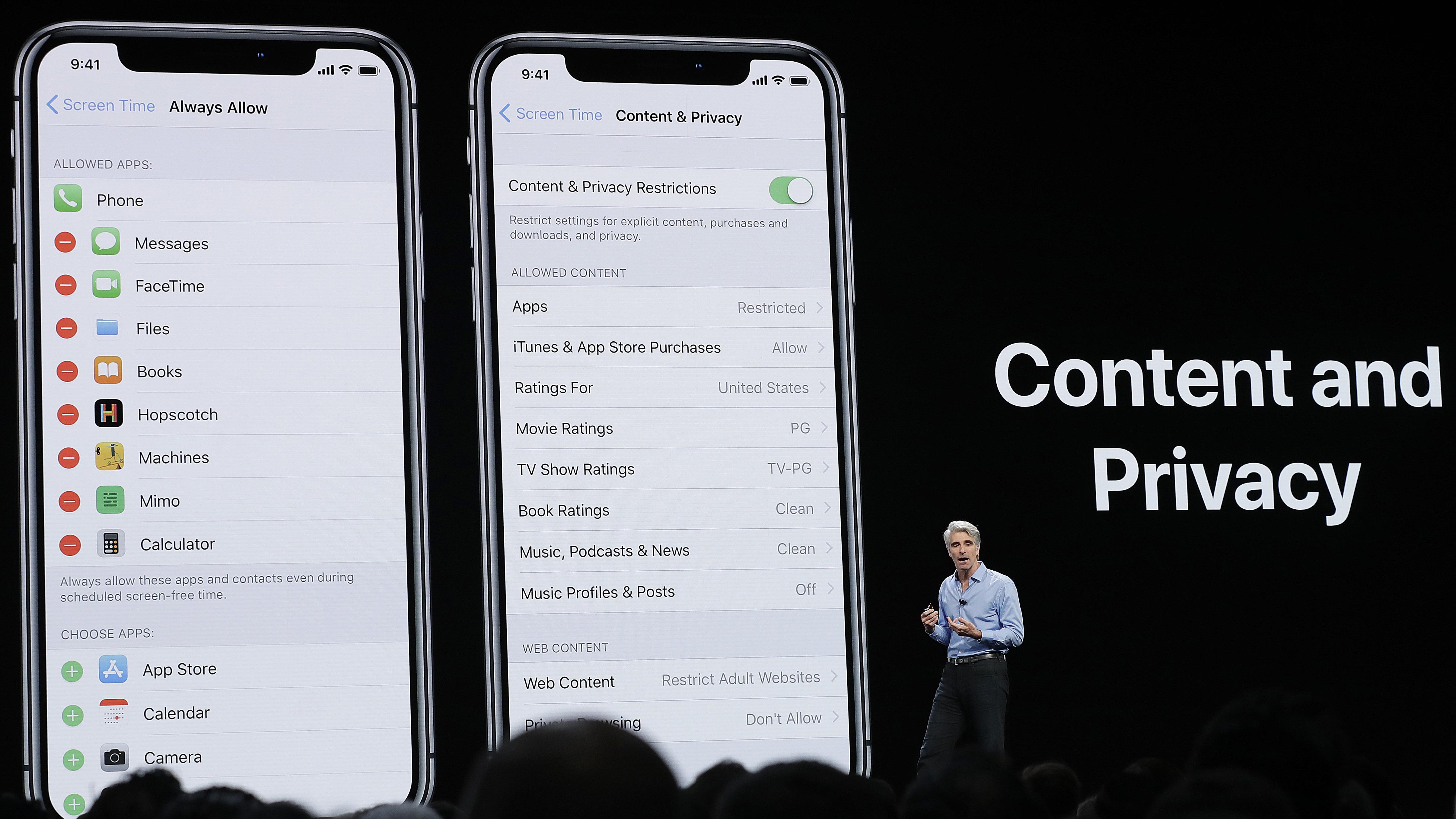 Phone book apple