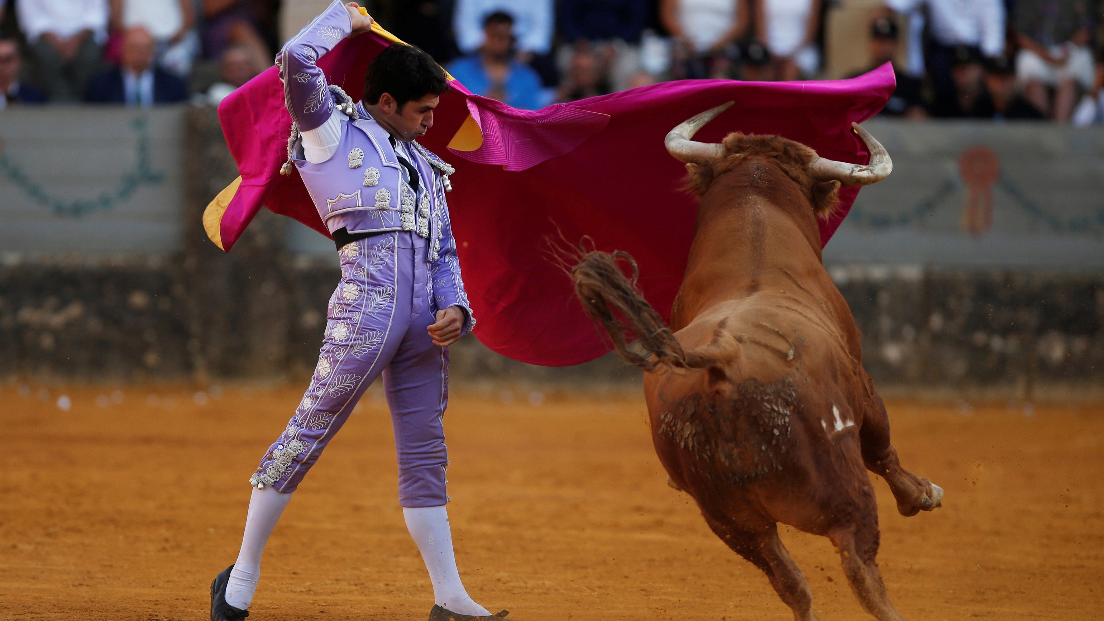 Bullfighting in Spain.