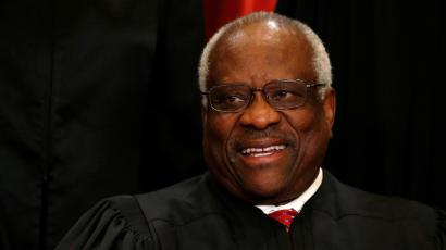 Justice Clarence Thomas.