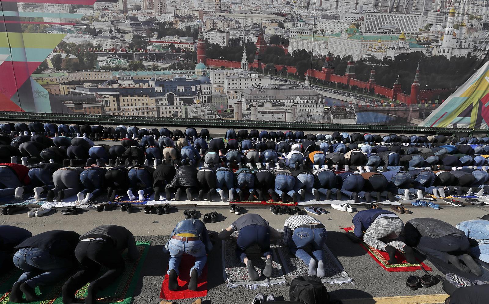 Eid al-Fitr celebrations in Moscow