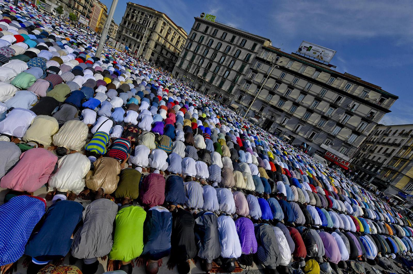 Eid al-Fitr celebrations in Naples