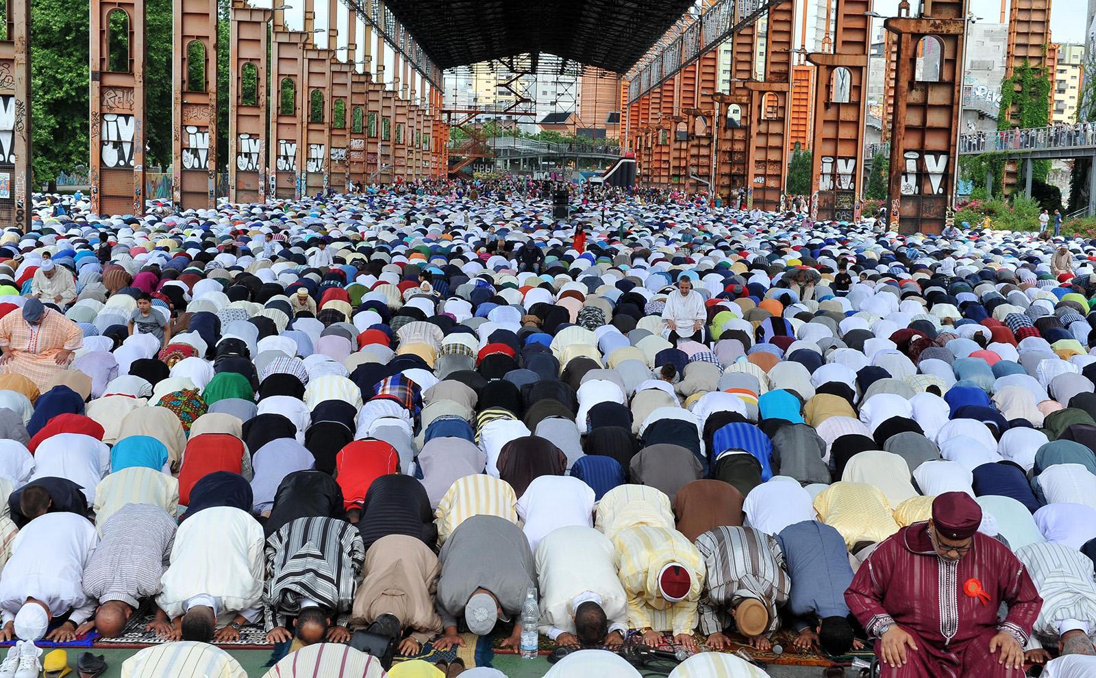 Eid al-Fitr celebrations in Turin