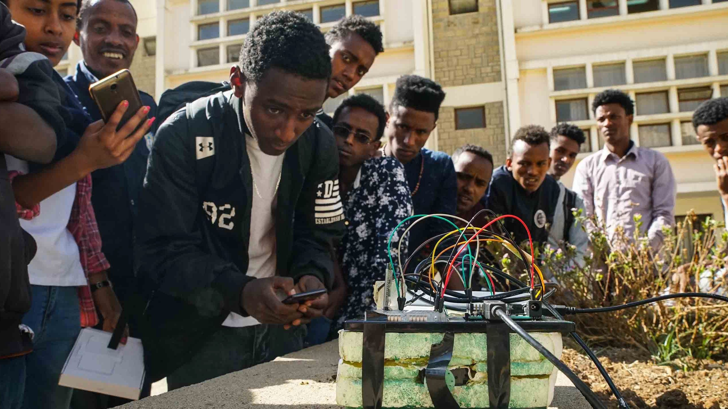 Young Ethiopians are increasingly seeing artificial intelligence as a promising profession.