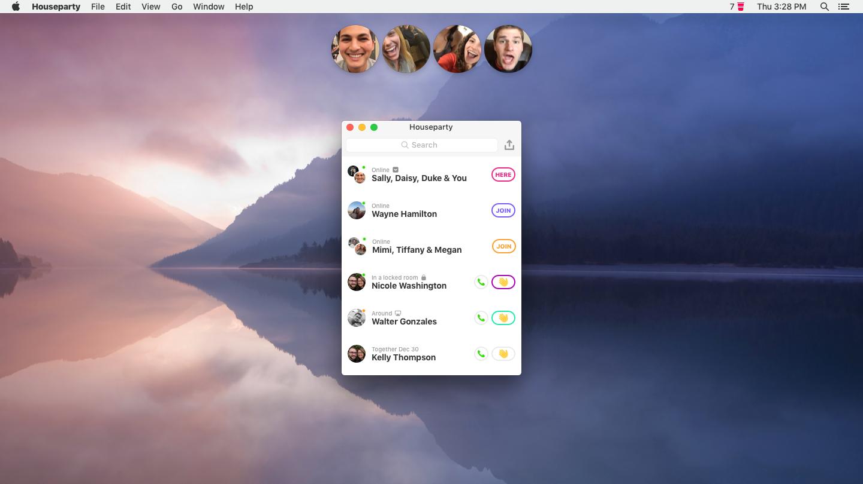 Houseparty is launching a Mac app — Quartz