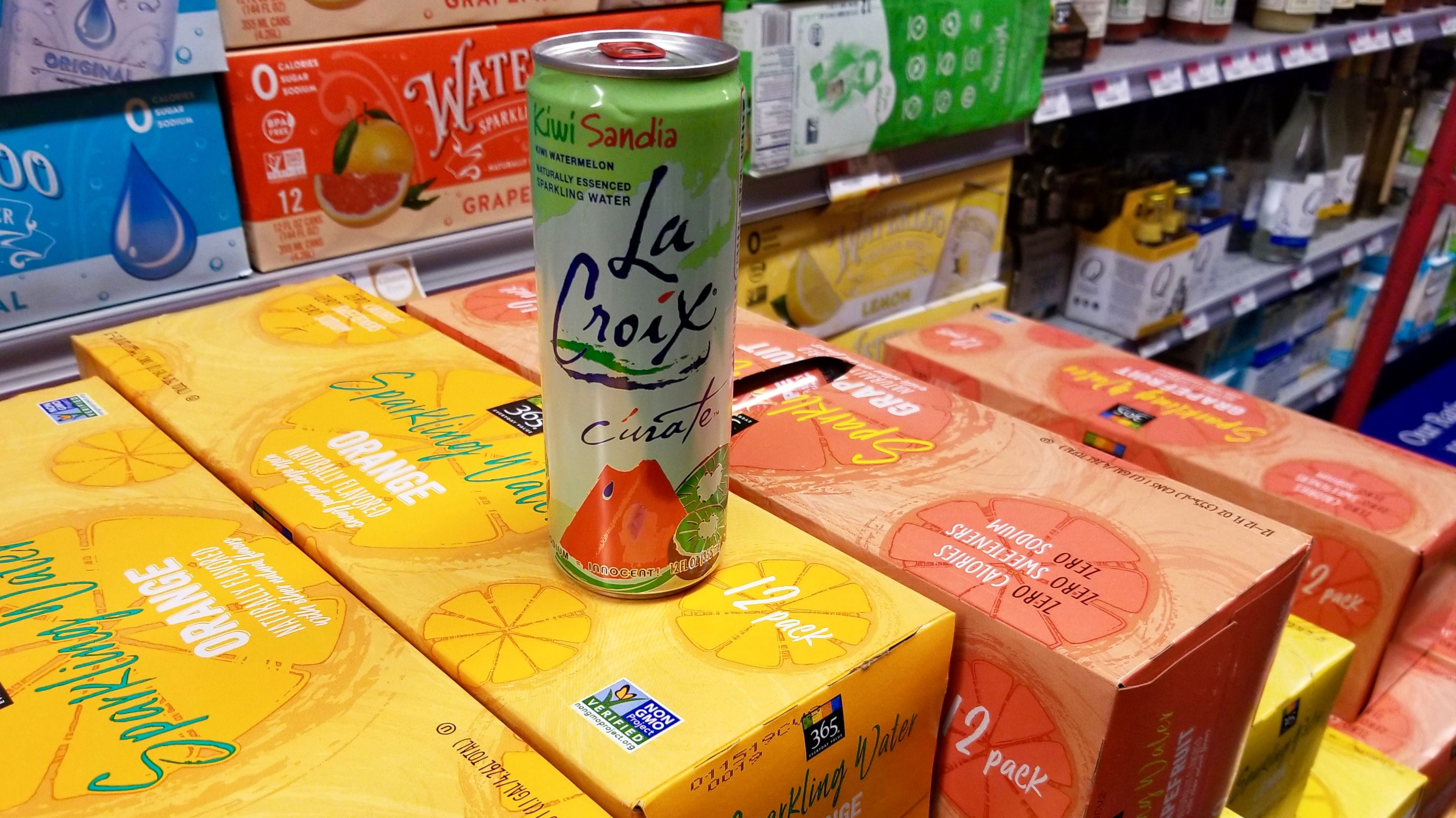 Whole Foods Seltzer Water La Croix