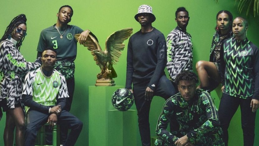 7b390023104 Nigeria World Cup jersey  the economics of fake kit from China ...
