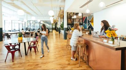 WeWork says it would be New York City's largest private