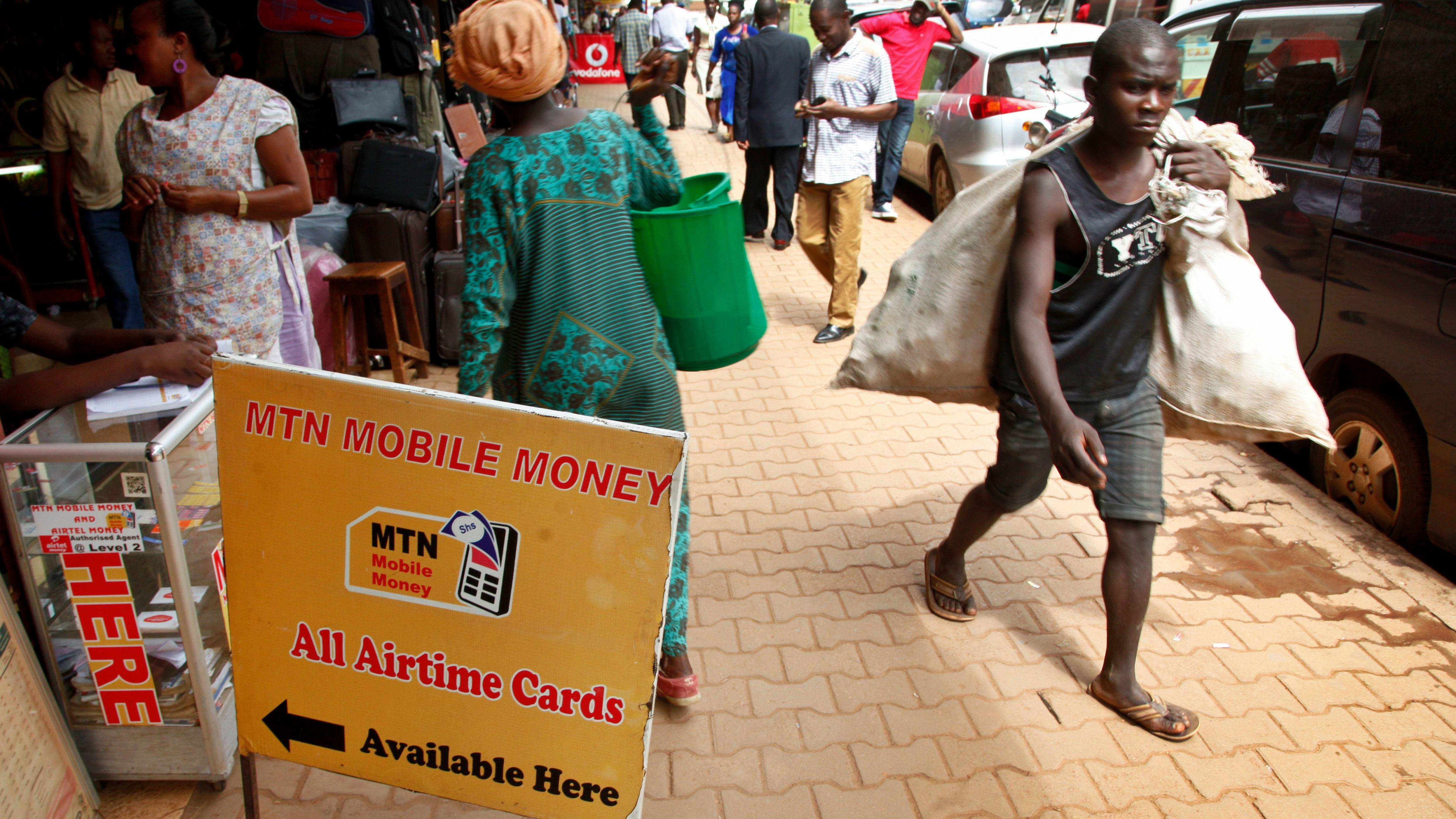 Uganda Africa Mobile Money