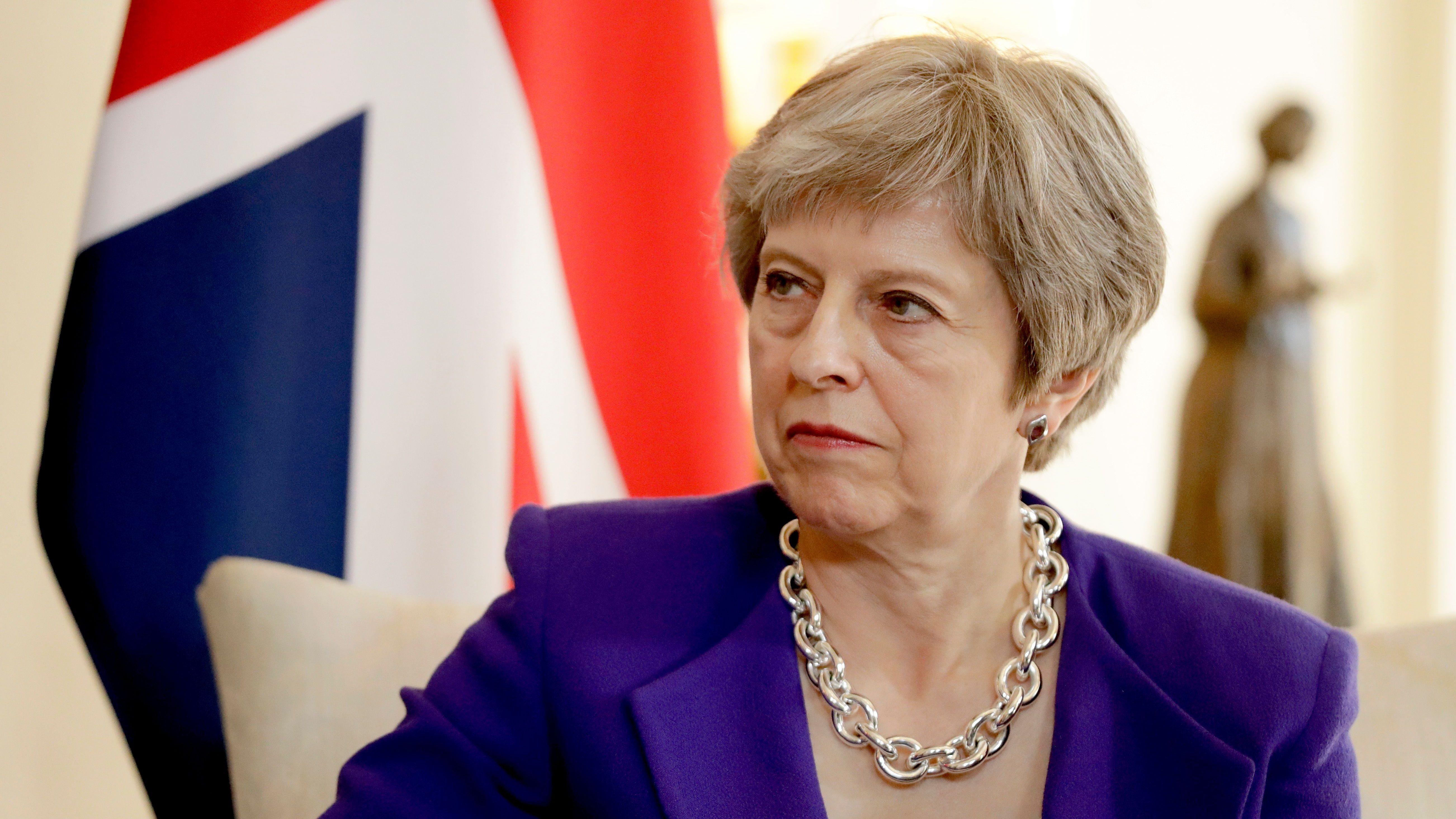 British Prime Minister Theresa May