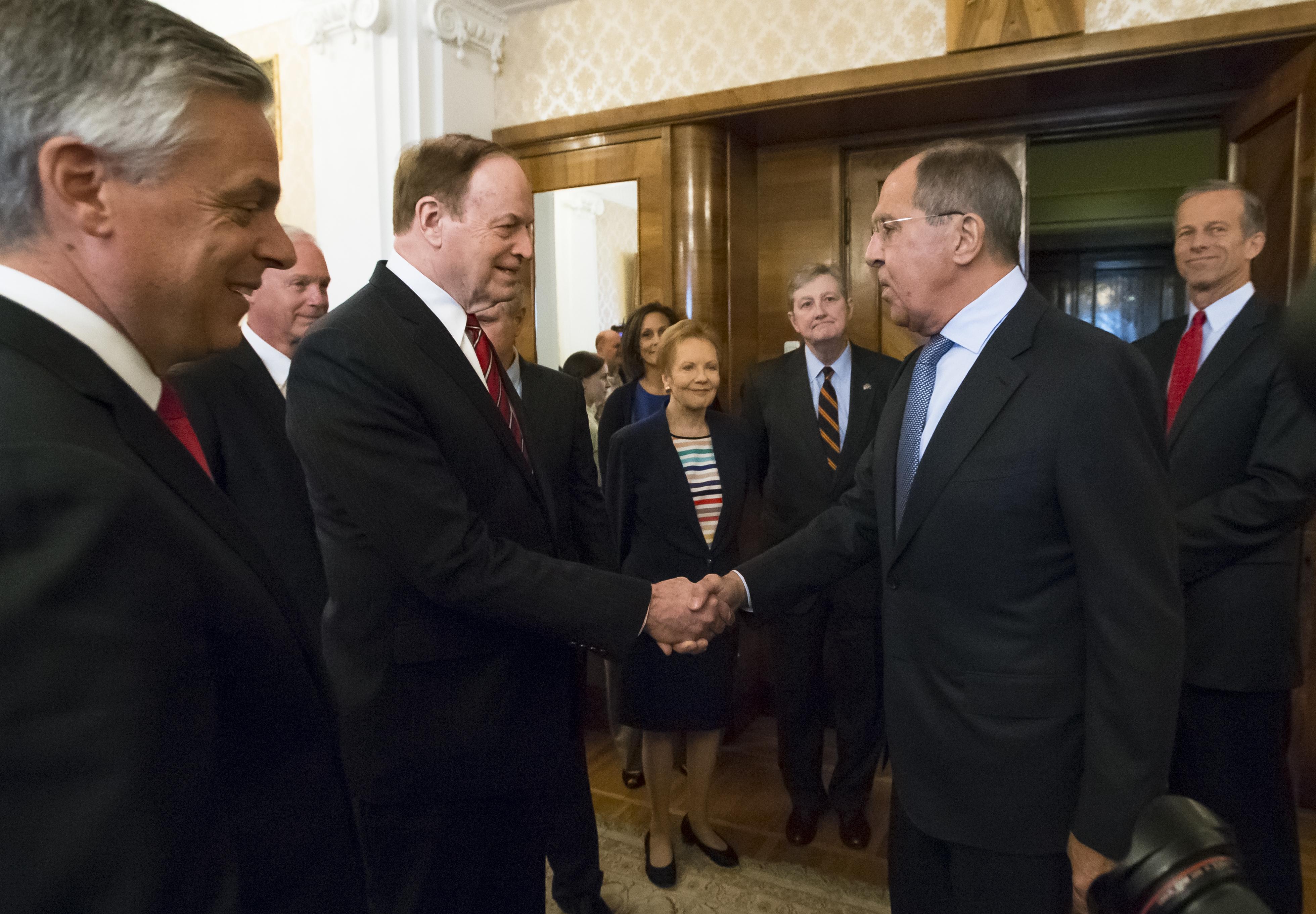 Sergey Lavrov, Richard Shelby