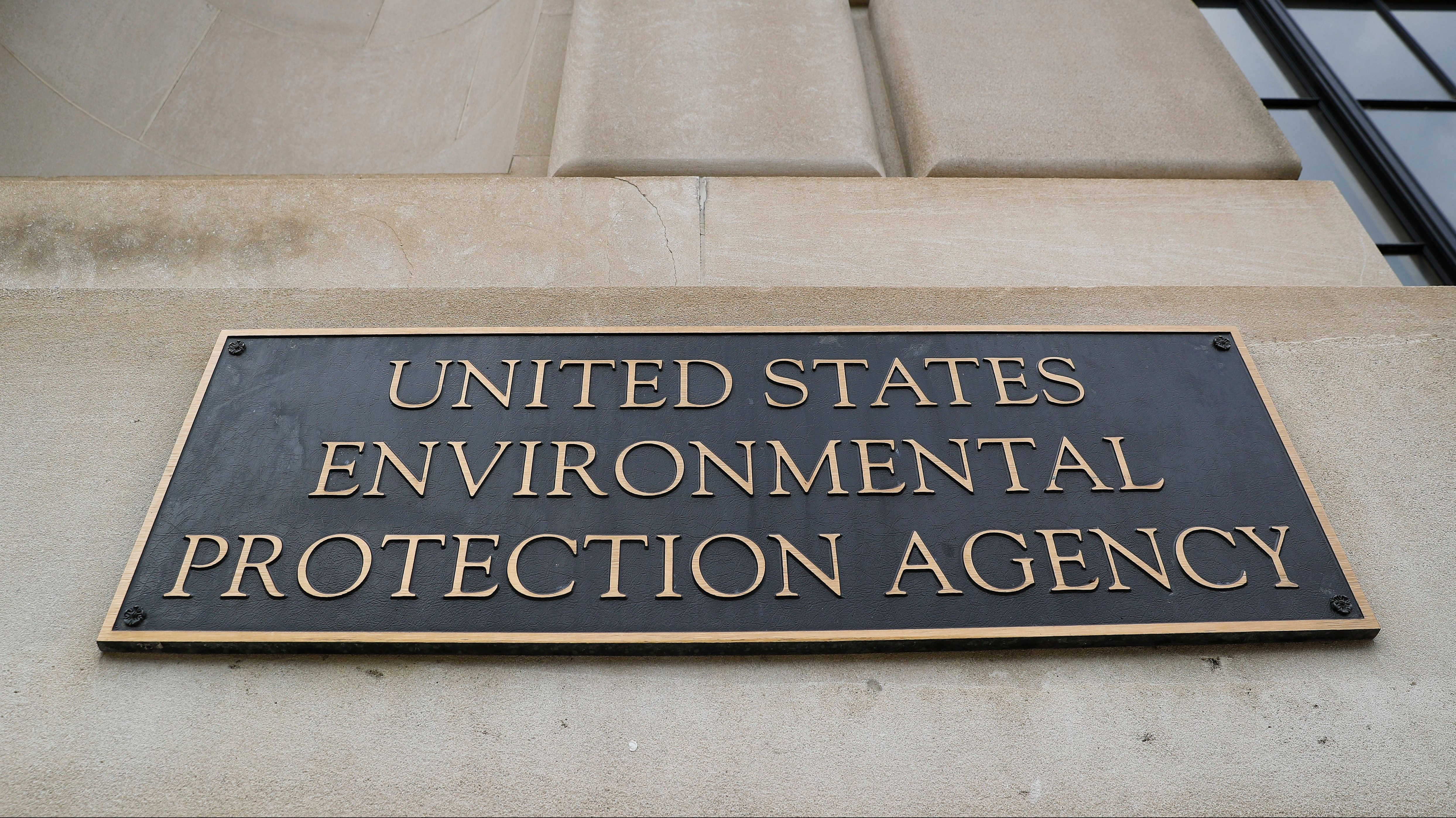 FILE - In this Sept. 21, 2017, file photo, the Environmental Protection Agency (EPA) Building is shown in Washington. Andrew Wheeler, the No. 2 official at EPA, will take over the agency on July 9, 2018, now that President Donald Trump has accepted the resignation of embattled administrator Scott Pruitt. He is a former coal industry lobbyist who helped lead an industry fight against regulations that protect Americans' health and address climate change.