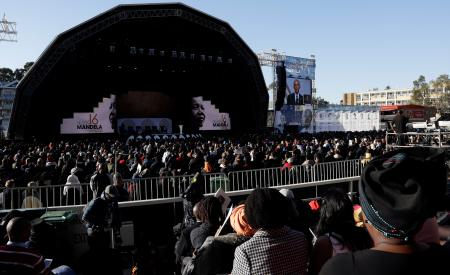 Barack Obama delivers Nelson Mandela lecture, warning about inequality in global economy