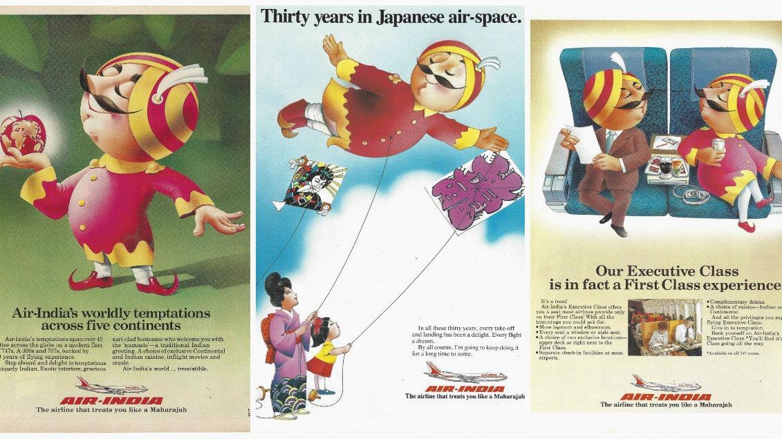 Air-India-art-posters-history