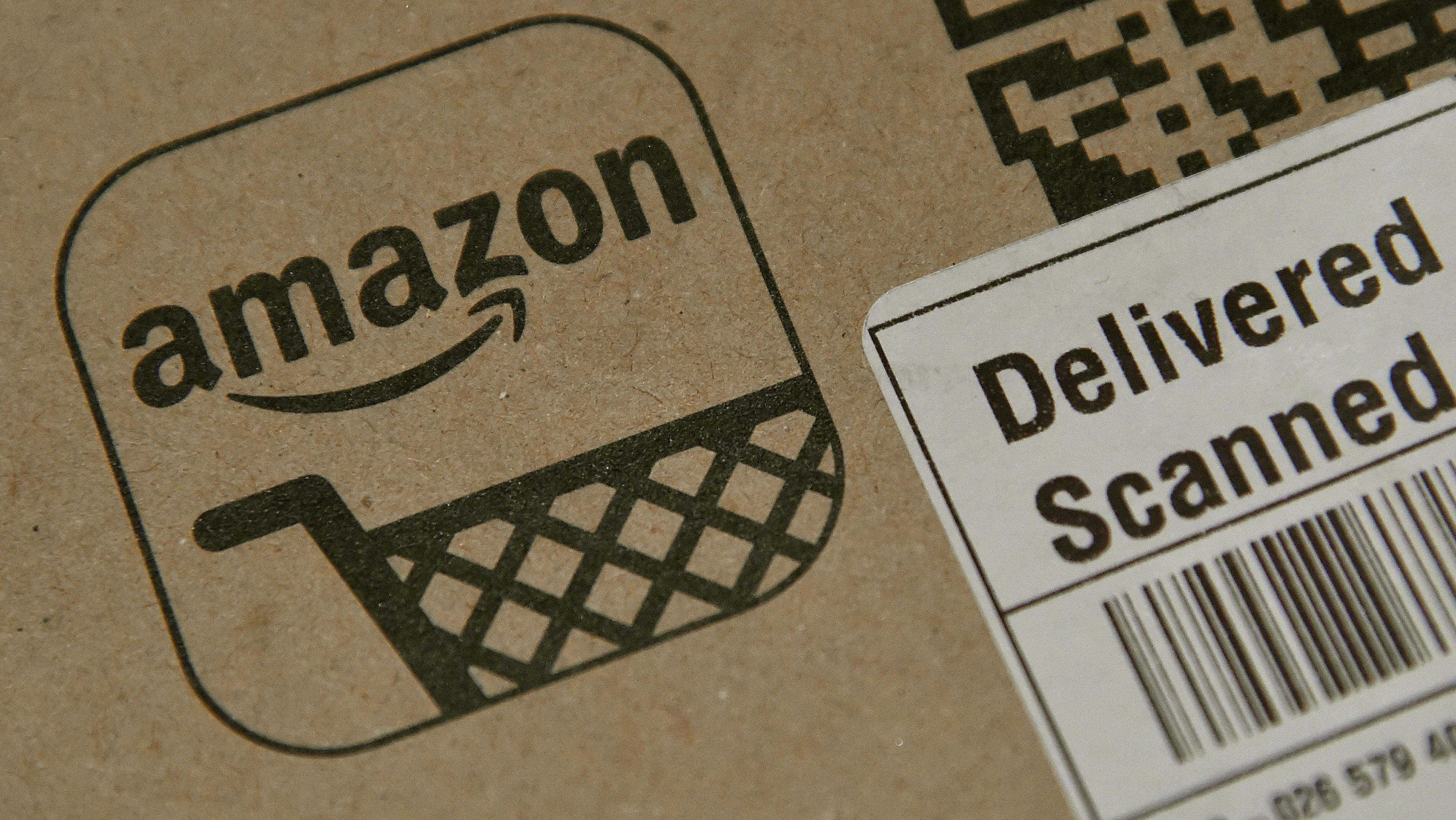 An Amazon package.