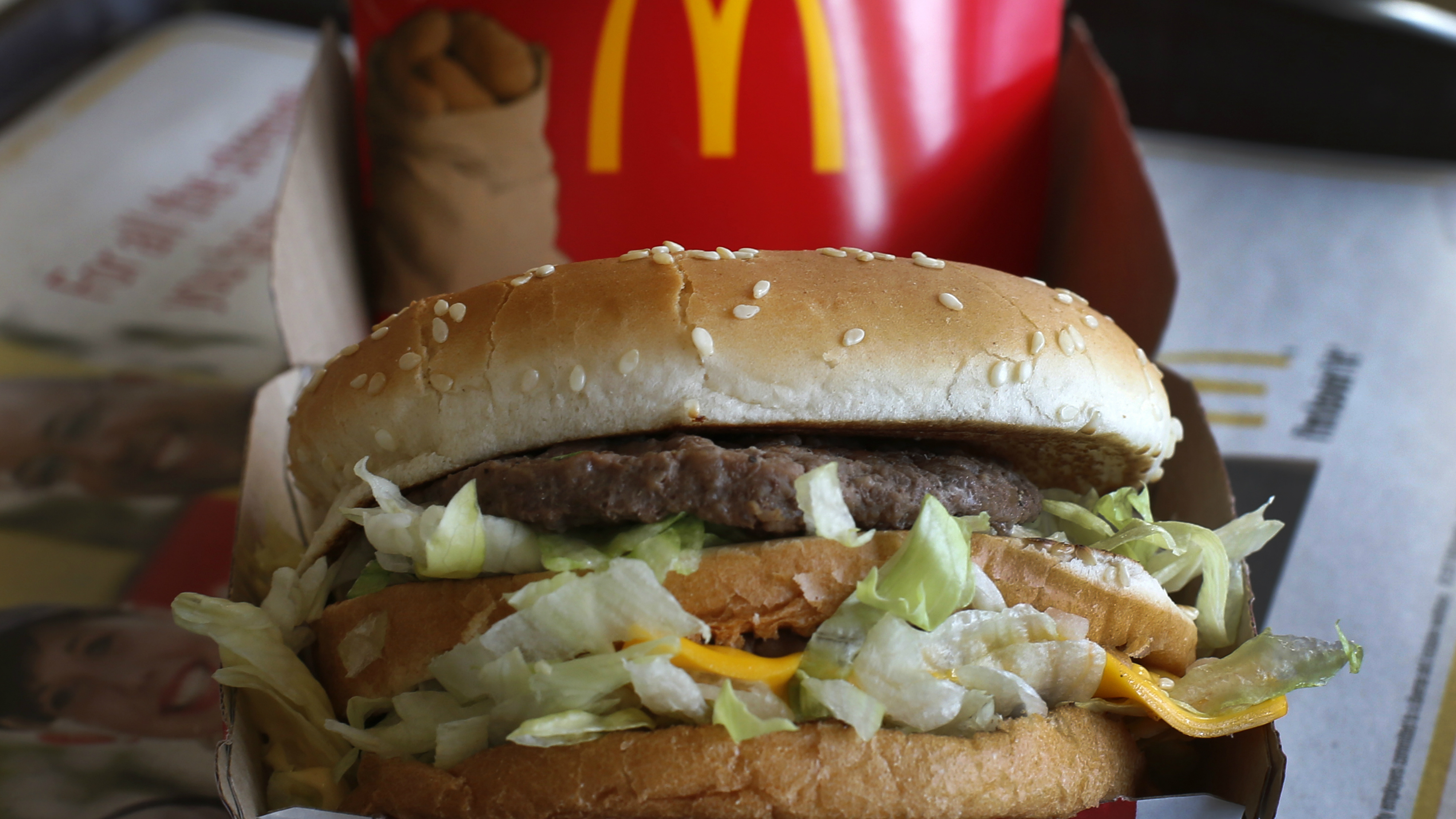 how much is a big mac combo in china