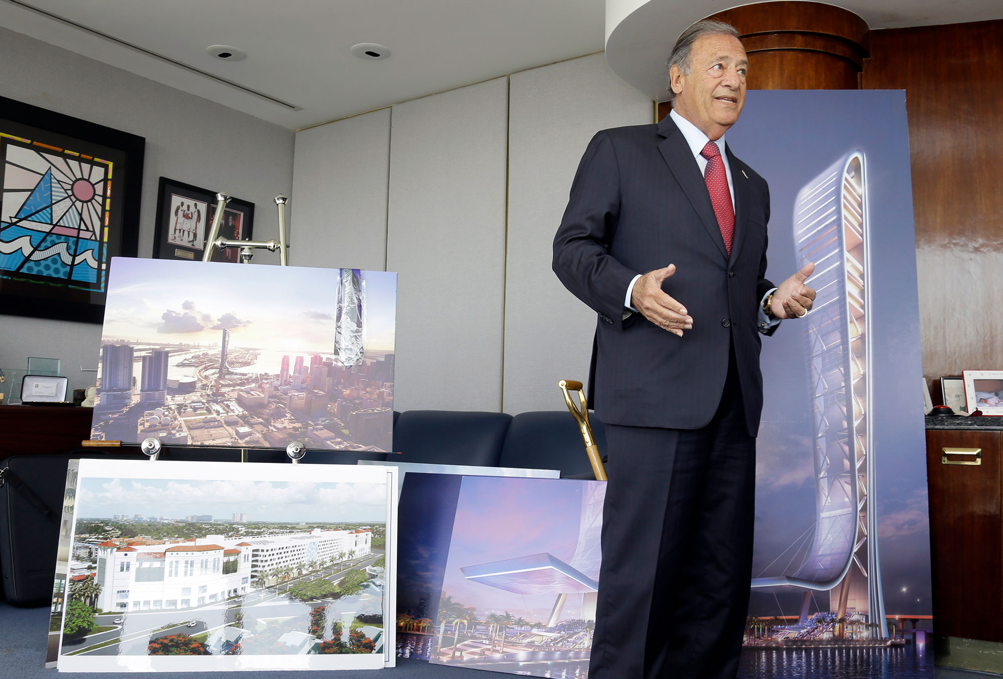SkyRise Miami, a real estate project in Miami, will get 63% of its funding from EB-5 investors.