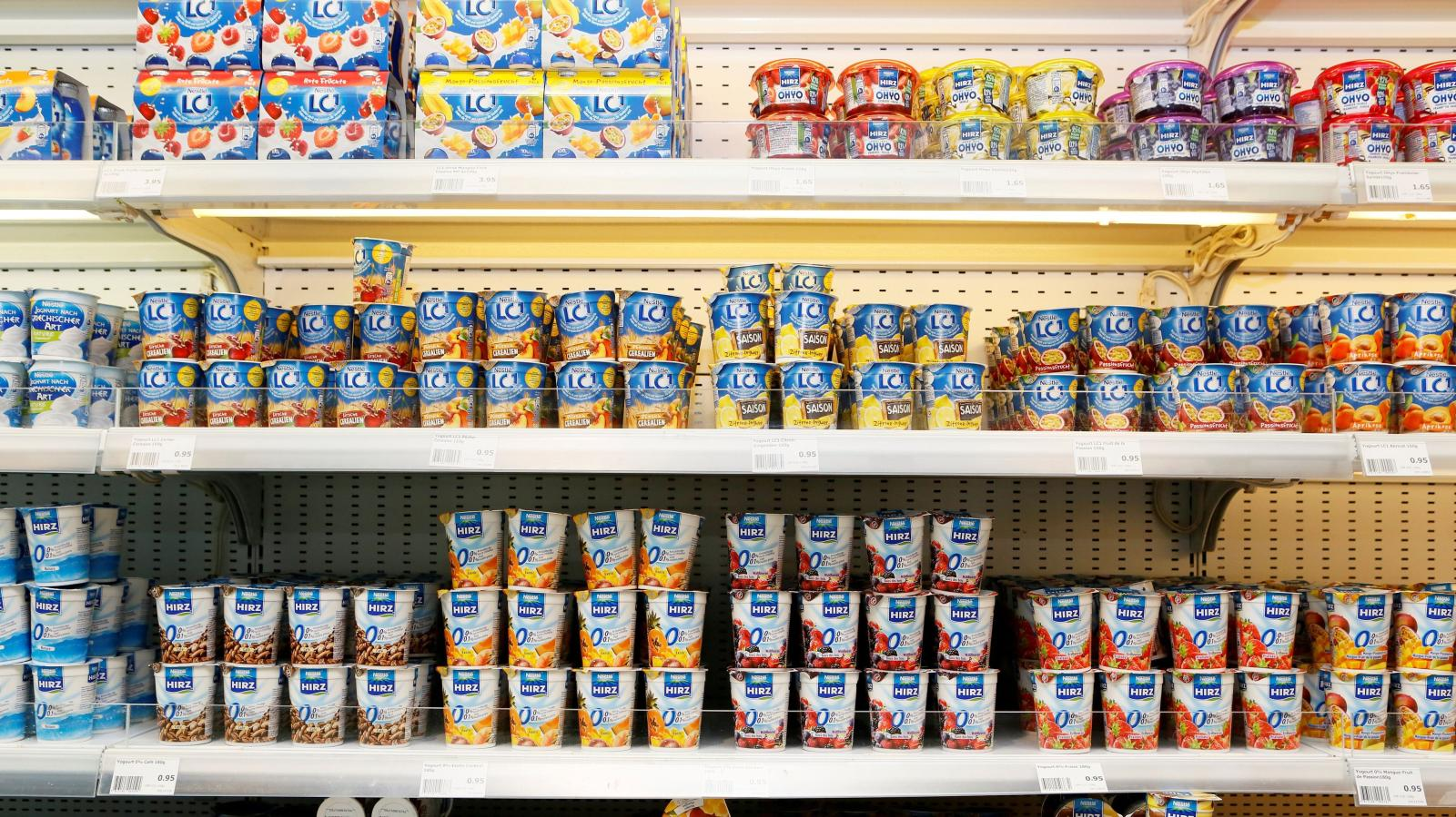 flavored yogurt isn't a healthy snack
