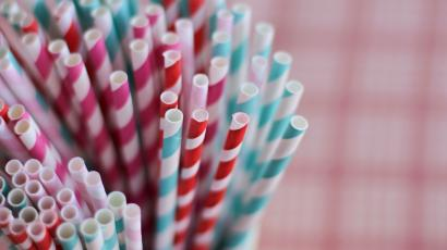 Ban plastic straws. Just don't use paper ones, because they're awful