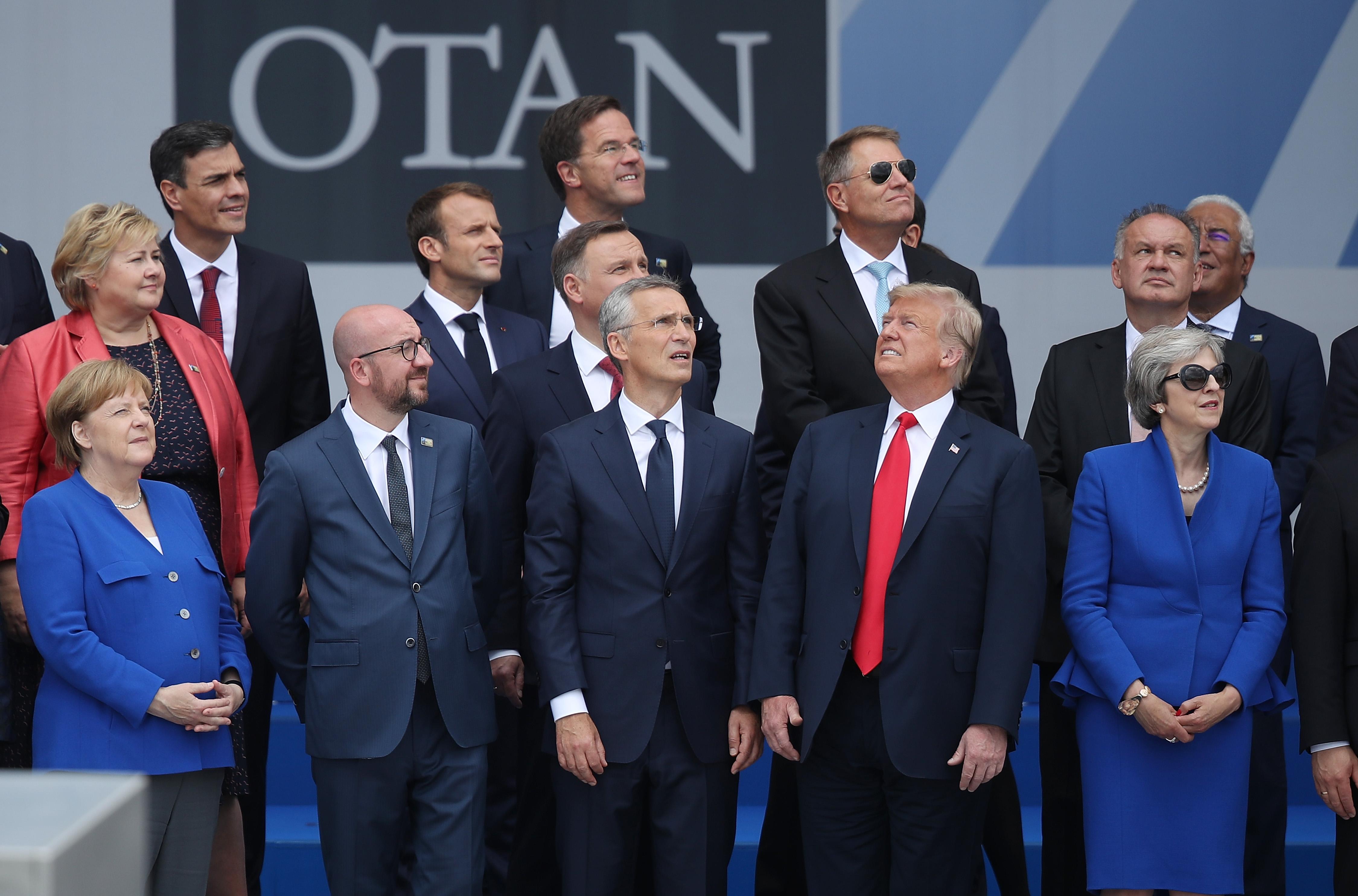 Image result for TRUMP NATO SUMMIT