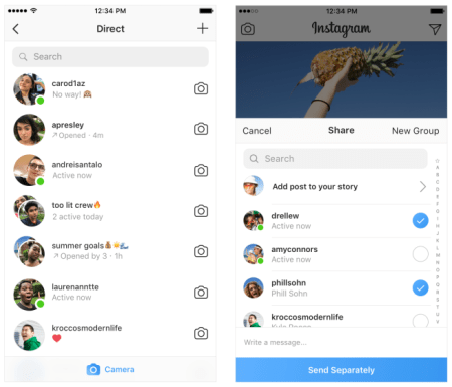 Instagram's new active status green dot: how to turn it off — Quartz