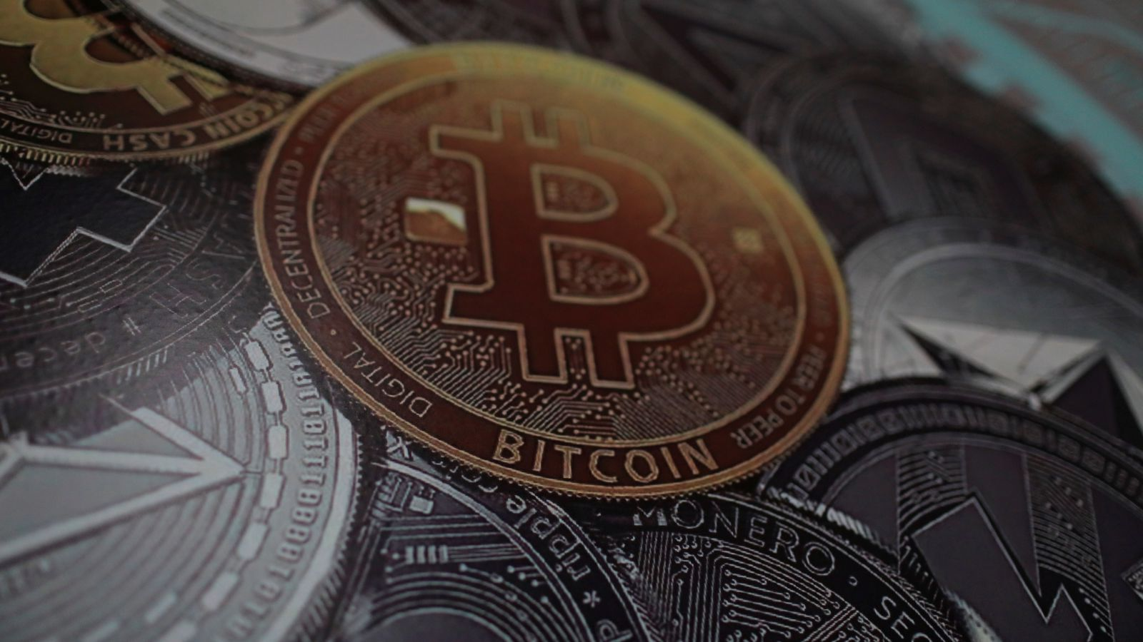 A bitcoin logo is seen at a facility of the Youth and Sports Ministry in Caracas, Venezuela February 23, 2018.