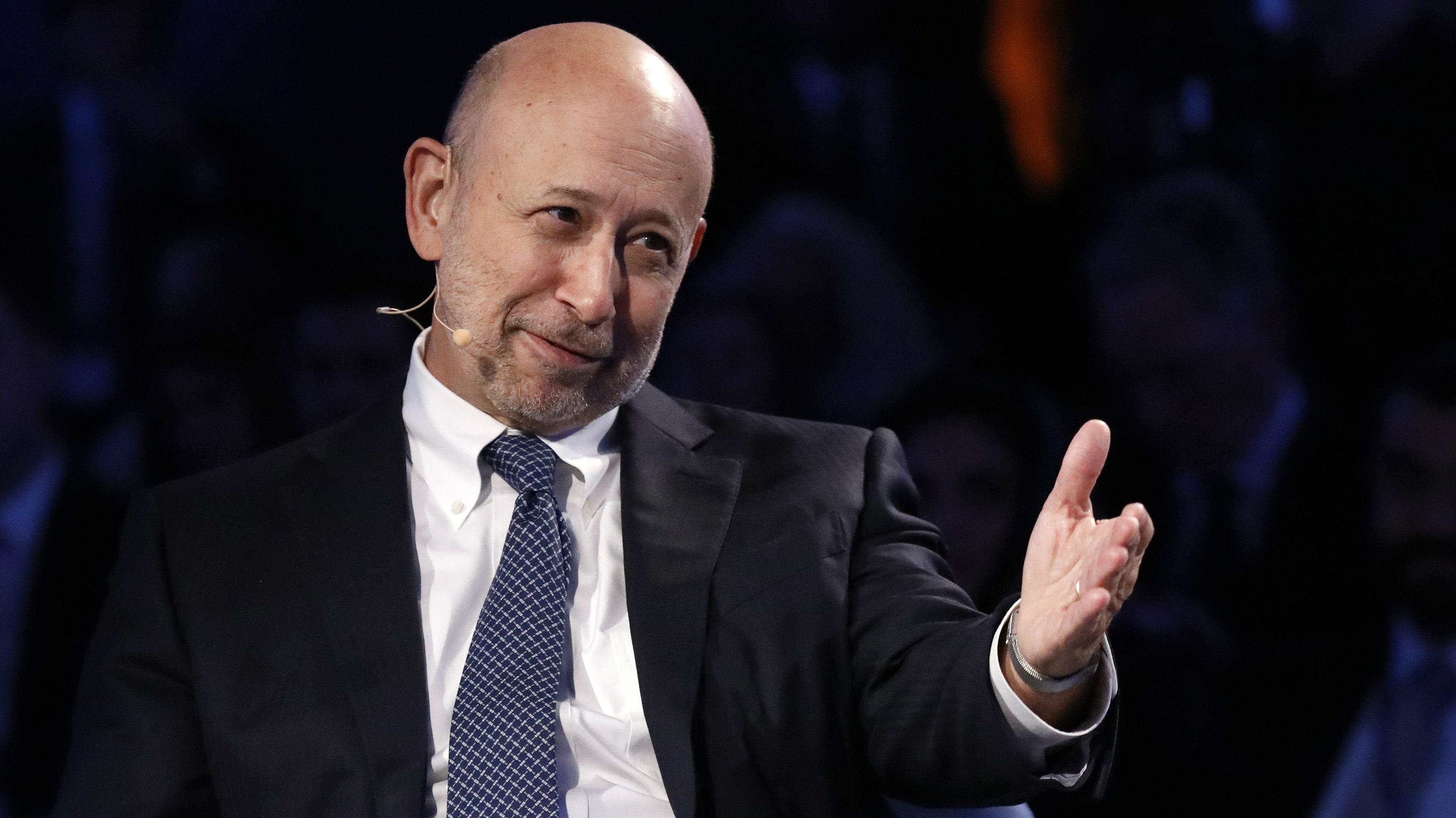 Goldman Sachs officially announced David Solomon as Lloyd